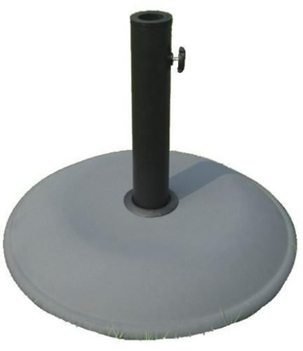 M M Ombrelloni.Base Tonde Cm 50 In Cemento Per Ombrelloni Tubo Mm 58 Arredo Giardino