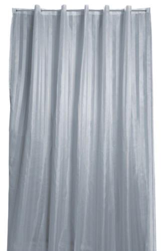 Arredo Bagno Tenda Doccia.Tenda Doccia Tessuto Poliestere Rigone Bianco Cm 120x200 Idraulica