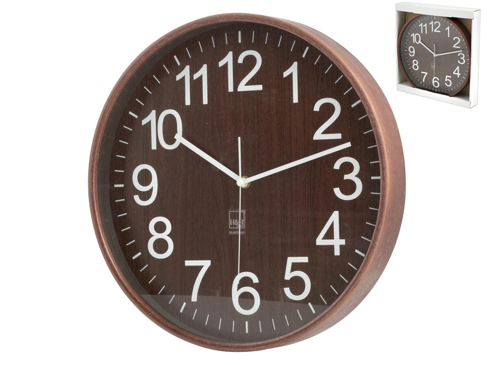 Decorazioni In Legno Per La Casa : H h orologio parete legno sc tondo arredo e decorazioni casa