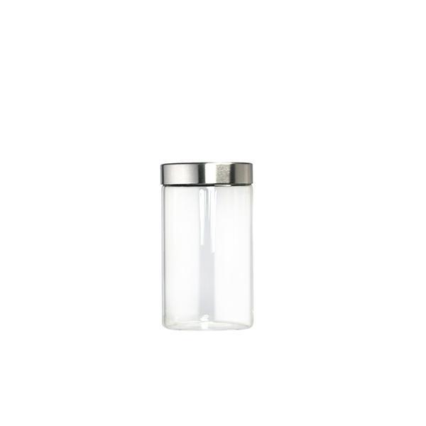 HOME PROFESSIONAL Barattolo vetro tappo inox cc950 Contenitori cucina  barattoli
