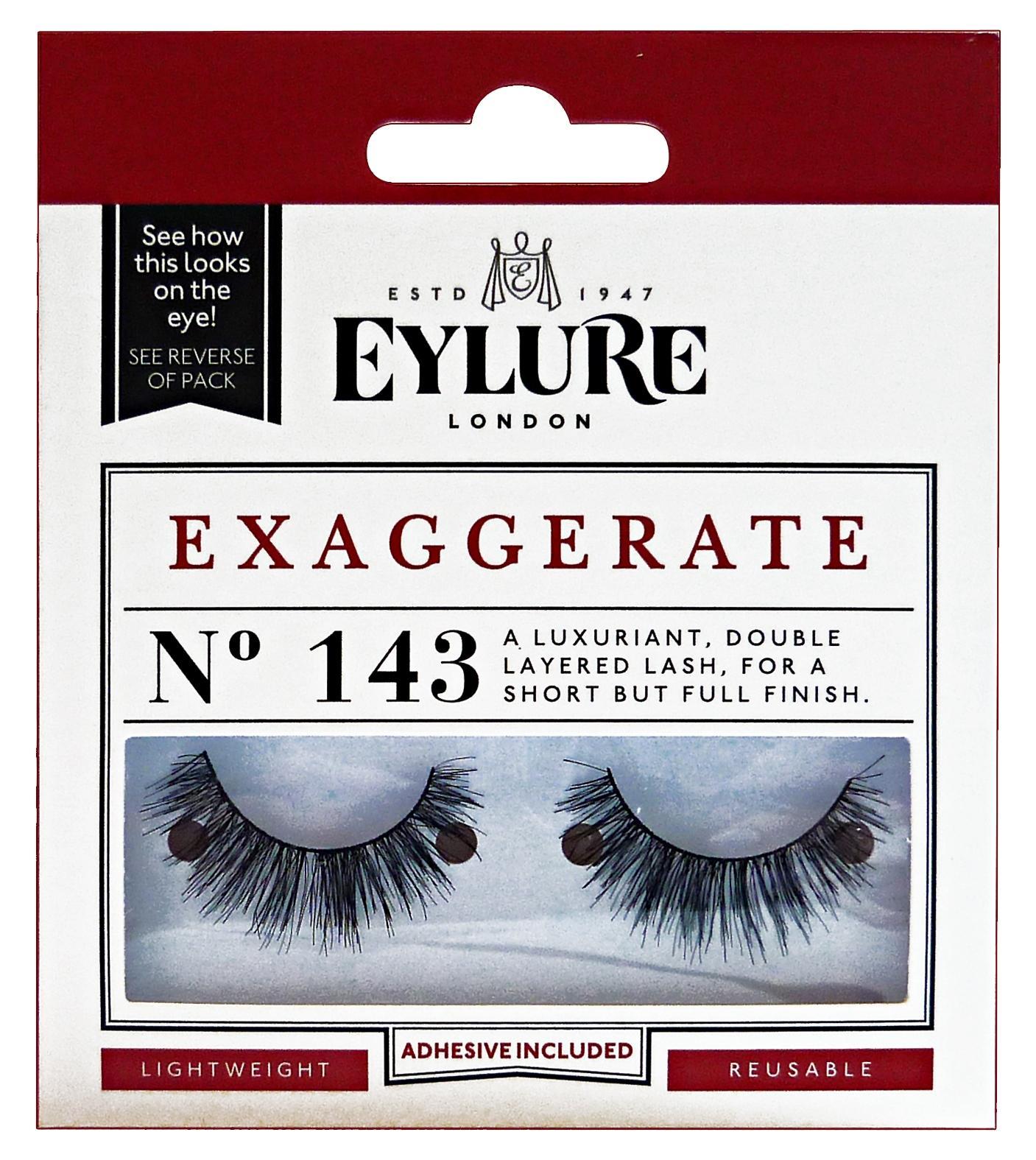 7e3efc81705 EYLURE Ciglia finte 143 exaggerate - trucco/make up - Glooke
