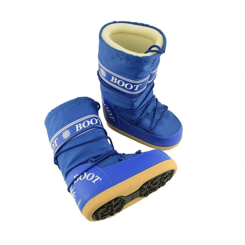 rivenditore di vendita 7e272 c00a0 MYSNOW Doposci Boot Donna Royal (Taglie 38-39-40) Neve Caldi Comodi  Imbottiti