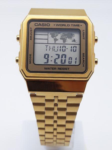 7c571741cc9d Orologio uomo e donna Casio Vintage Oro A500WEGA-9EF vendita on line ...