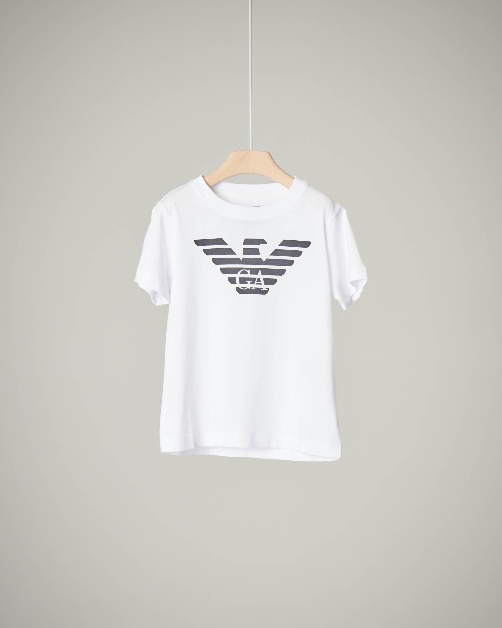 T-shirt bianca a manica corta