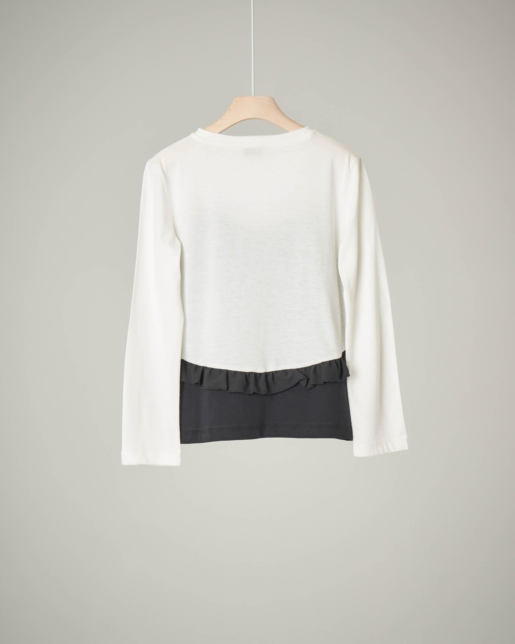 T-shirt bicolore combinata S-XL