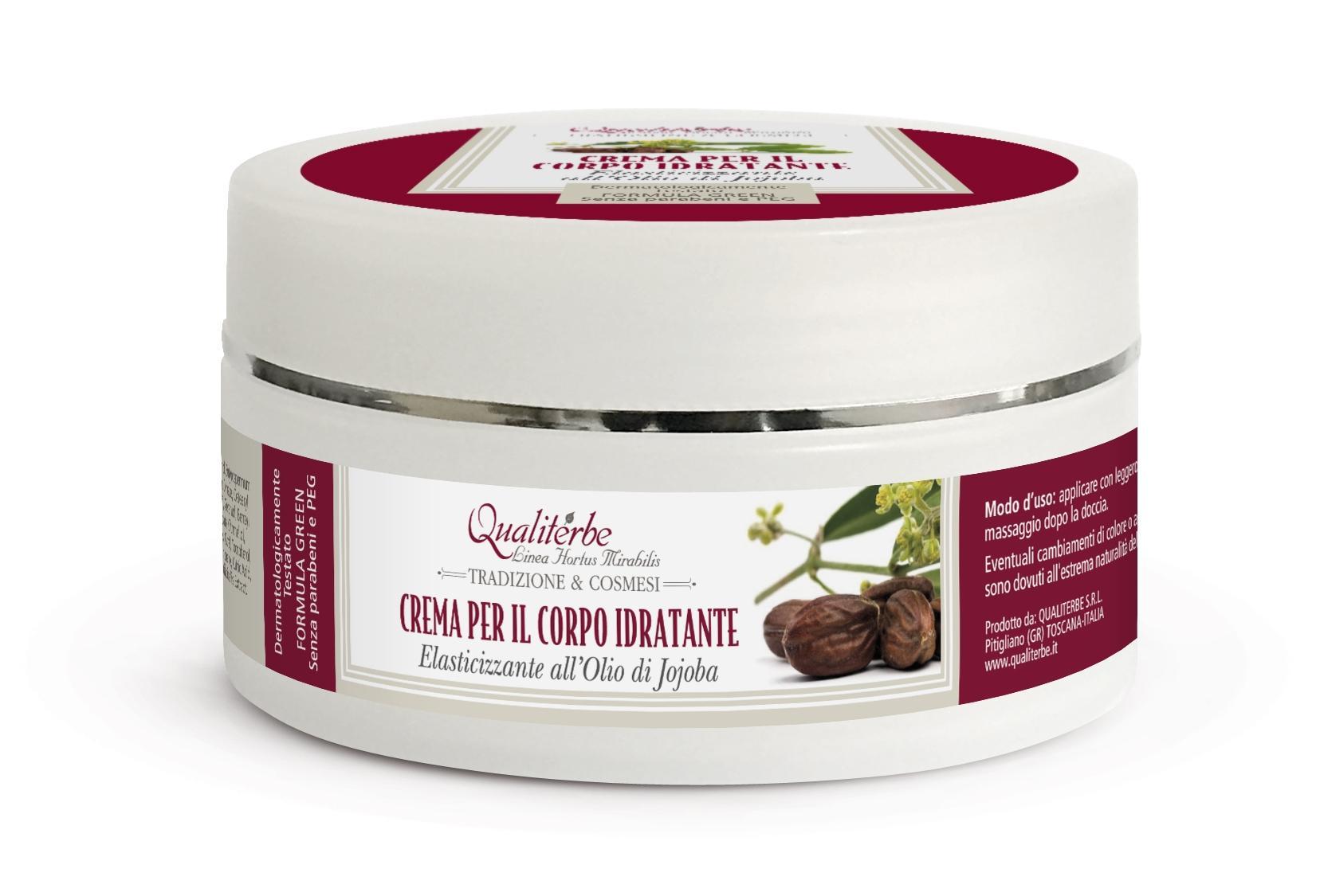 Crema per il corpo idratante all' Olio di Jojoba 6%