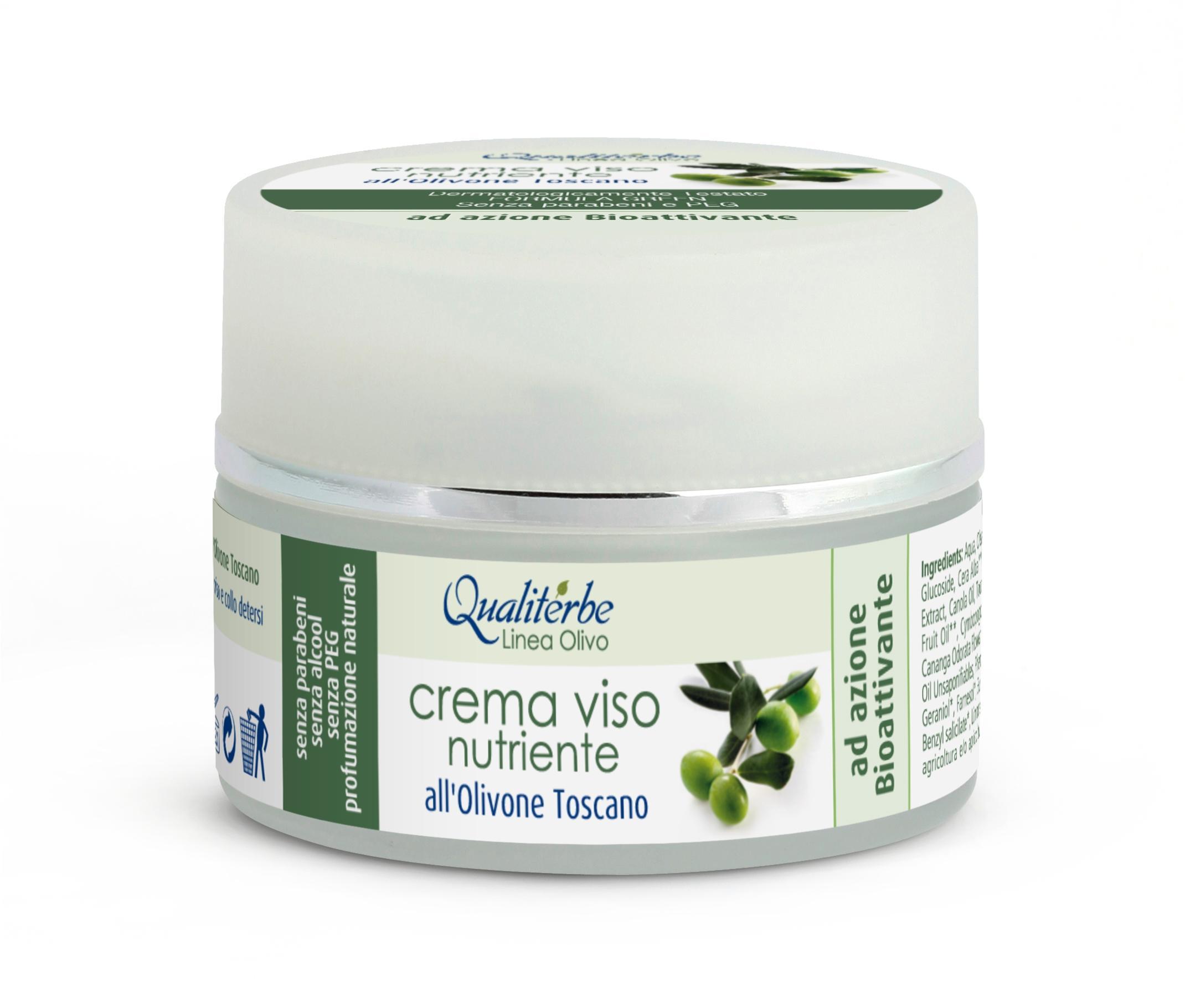 Crema Viso Nutriente all'Olivone Toscano-SENZA PARABENI