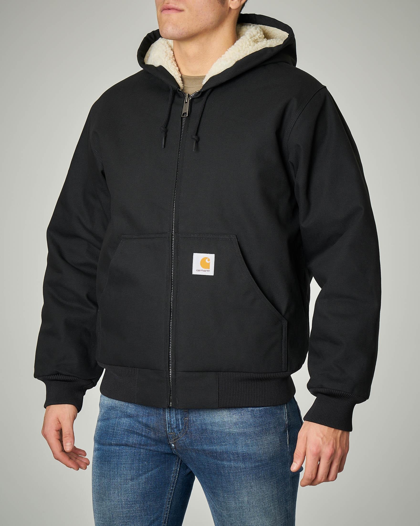 Active pile Jacket nera