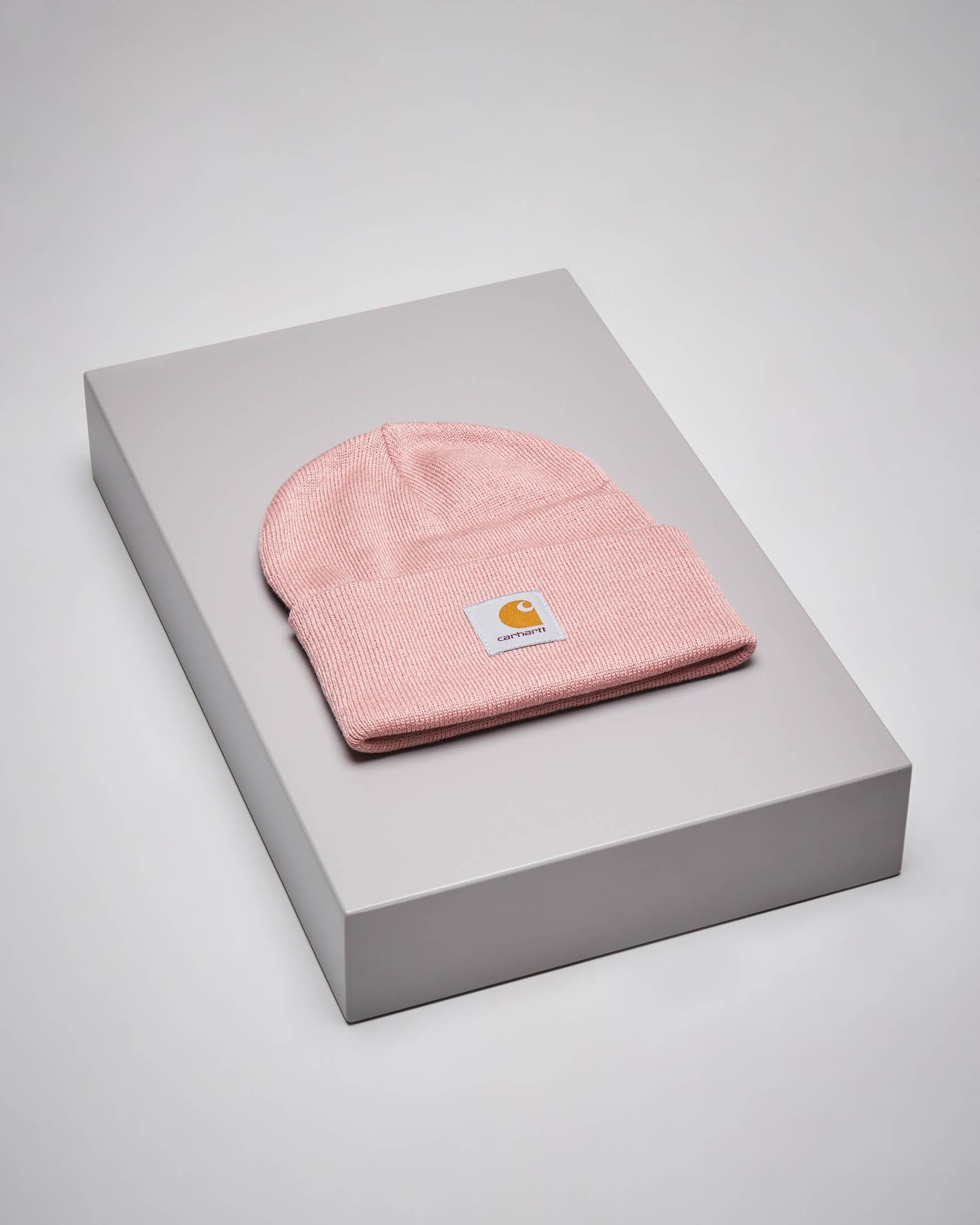 Berretto rosa con logo