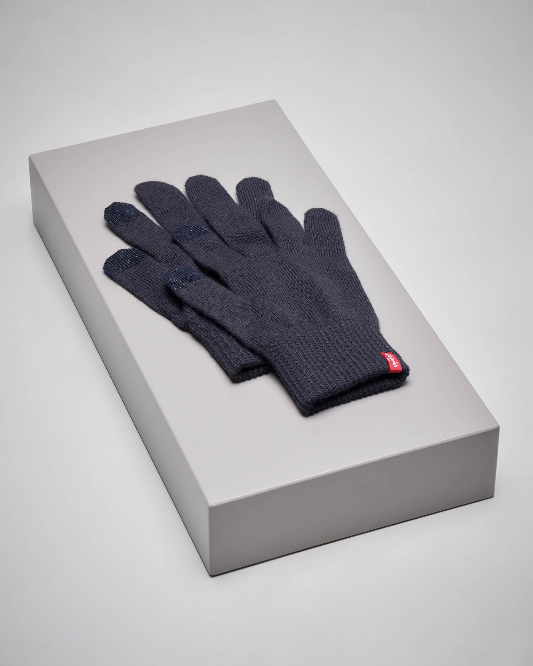 Guanto blu touch screen