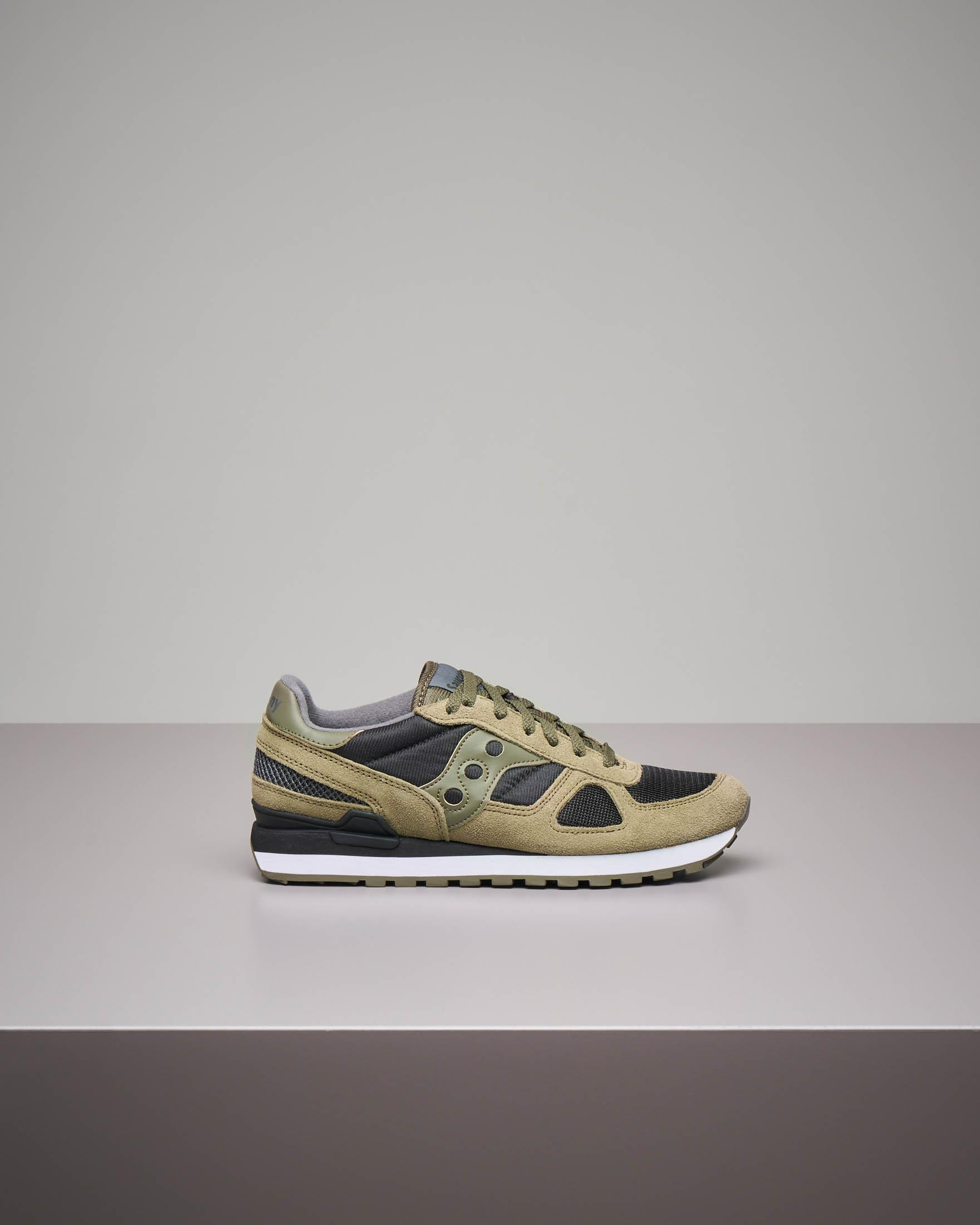 Sneakers Shadow O' verdi militare e nere