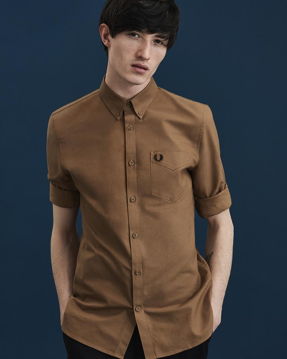 uomo streetstyle - fred perry