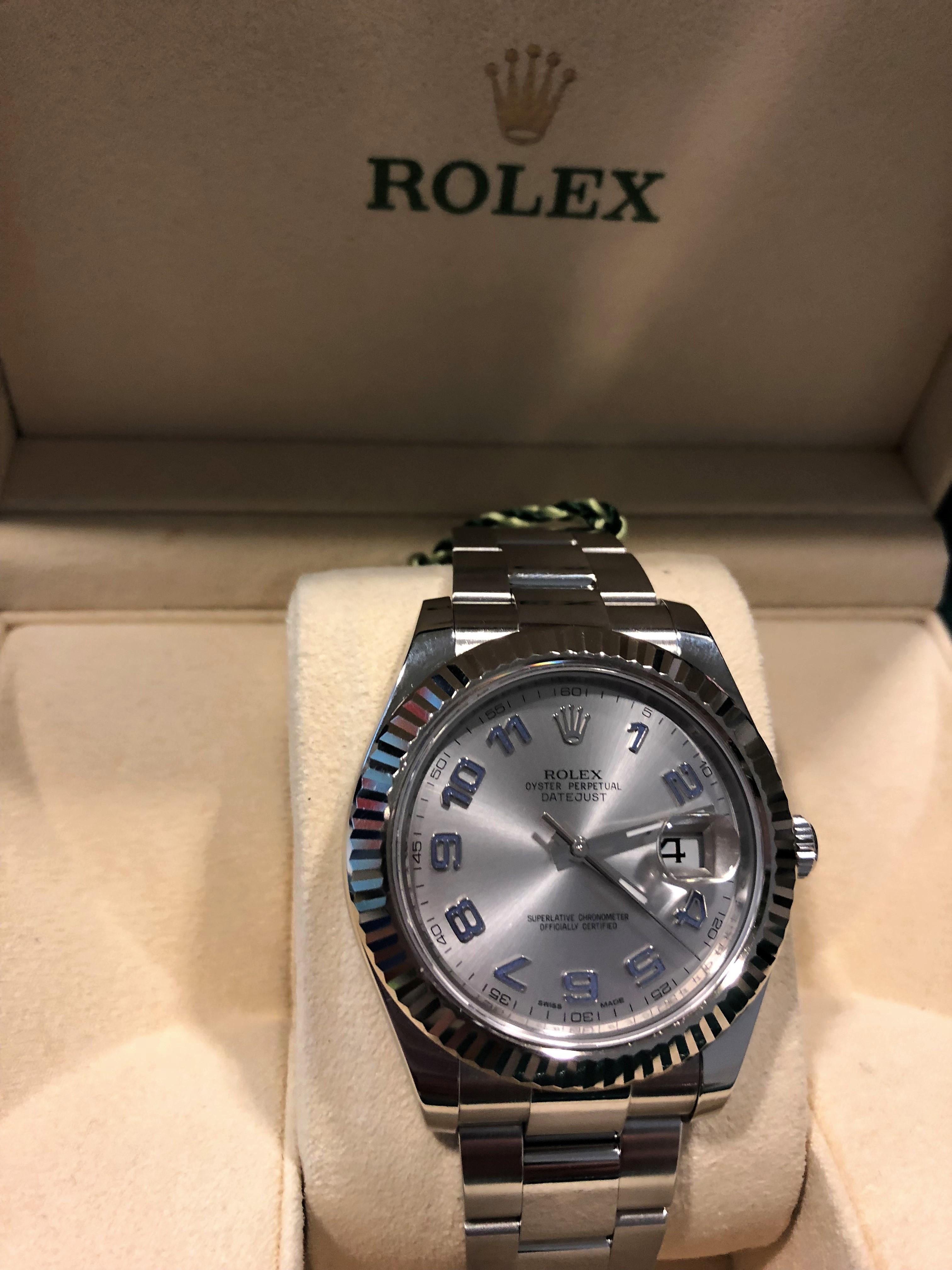 vendita calda online 1d60c 9e952 Orologio secondo polso Rolex Datejust II