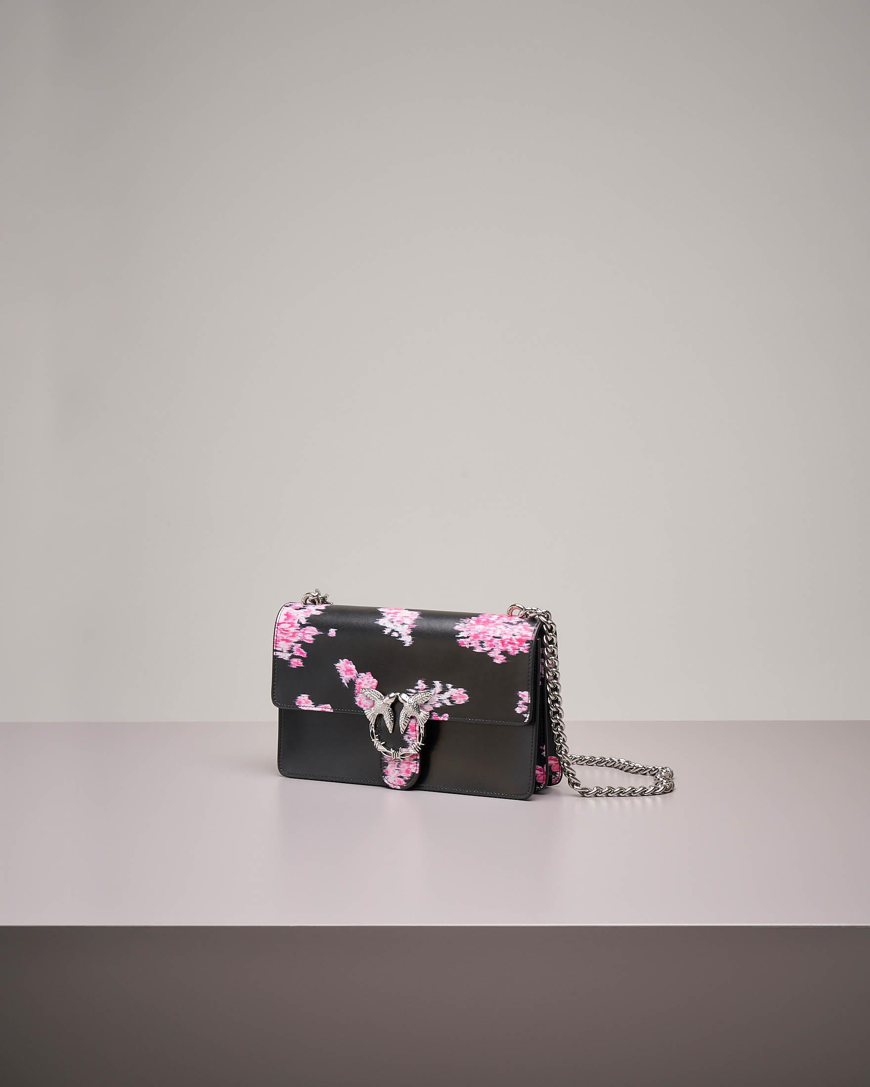 Love Bag Flower: tracolla con stampa floreale