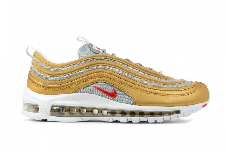 new concept 55b7f 76330 SNEAKERS NIKE AIR MAX 97 SSL METALLIC GOLD   UNIVERSITY RED BV0306 700 -  Sery Sport