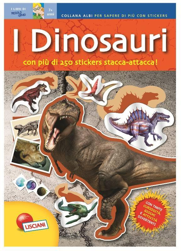 Lisciani Il Quaderno Dei Dinosauri Libro Educativo Gioco Didattico