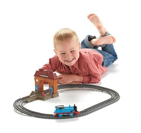 Mattel Set Wellsworth Track Station Train Game Bimbo Male Child 467