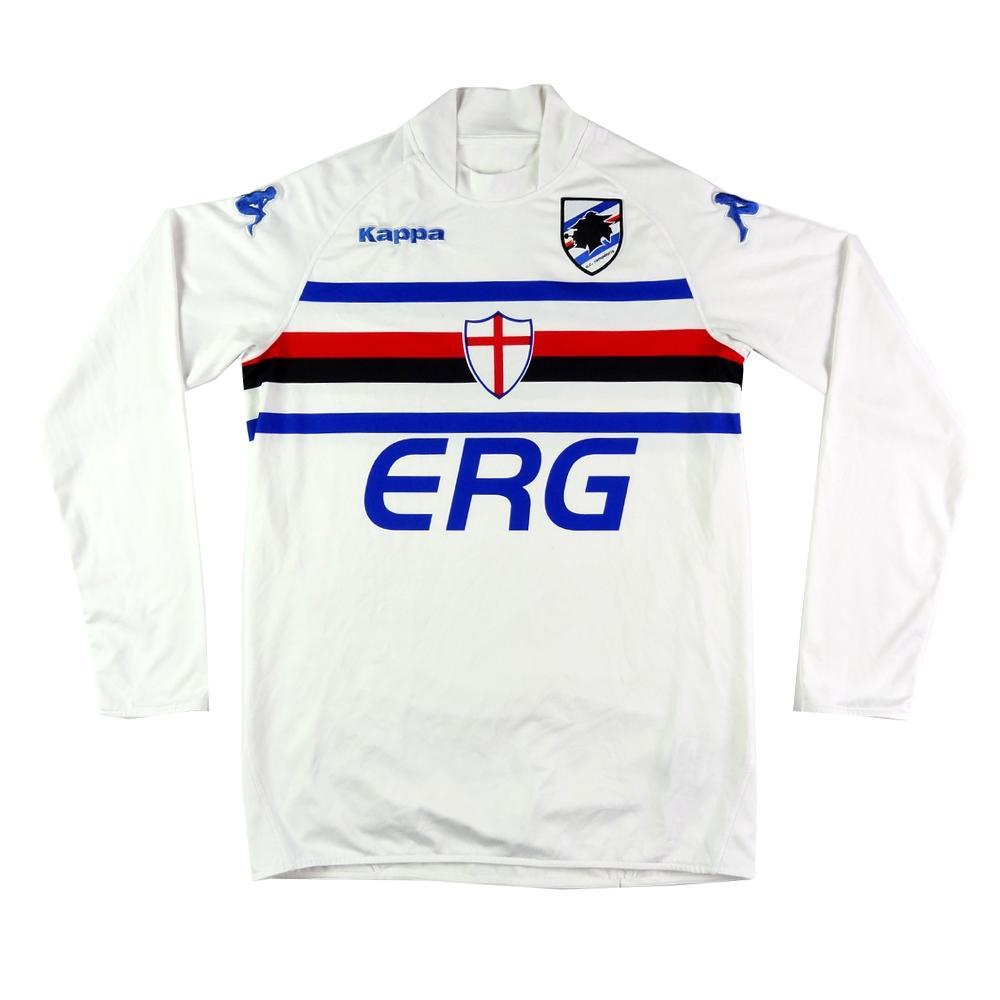 2004-05 Sampdoria shirt Away L (Top) - TOP VINTAGE FOOTBALL 7c5d93938