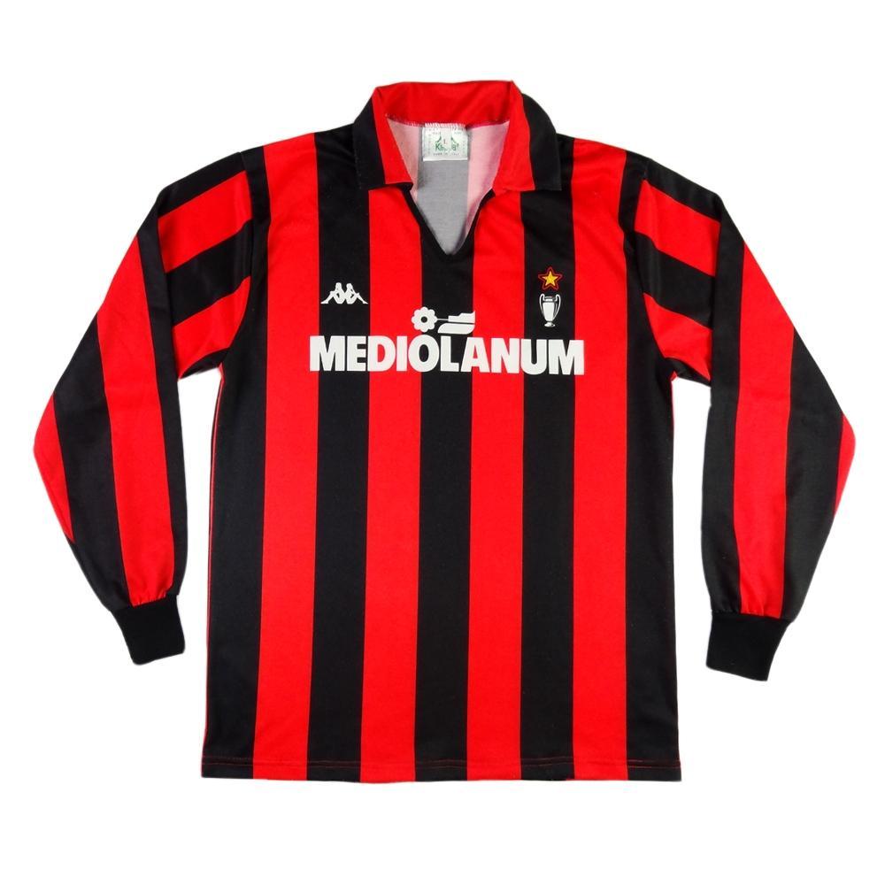 size 40 e1ede acbd3 1989-90 AC Milan shirt HOME L