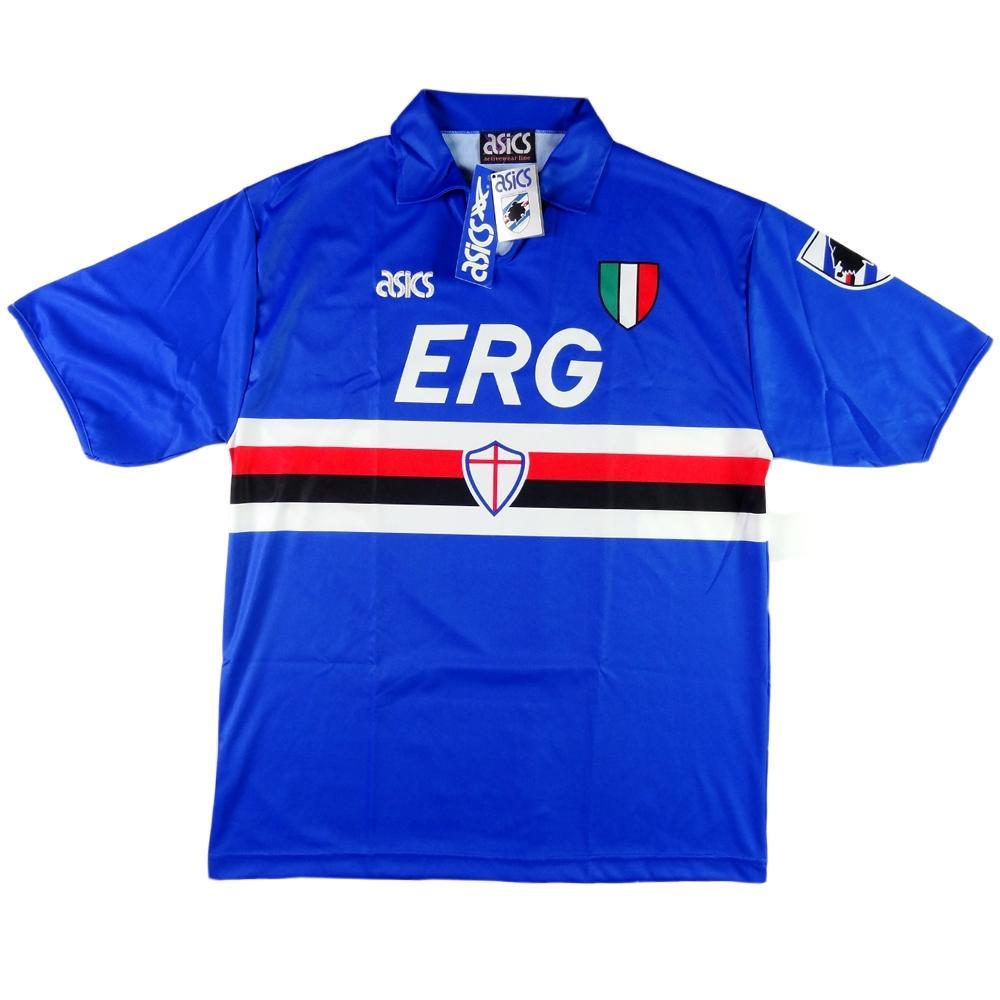 1991-92 Sampdoria shirt Home XL  BRAND NEW WITH TAGS - TOP VINTAGE FOOTBALL 7f215bc1e