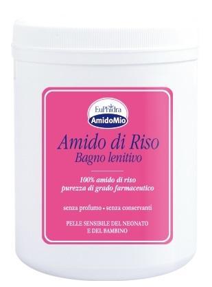 EUPHIDRA AMIDOMIO - AMIDO DI RISO BAGNO RINFRESCANTE 200 G POLVERE