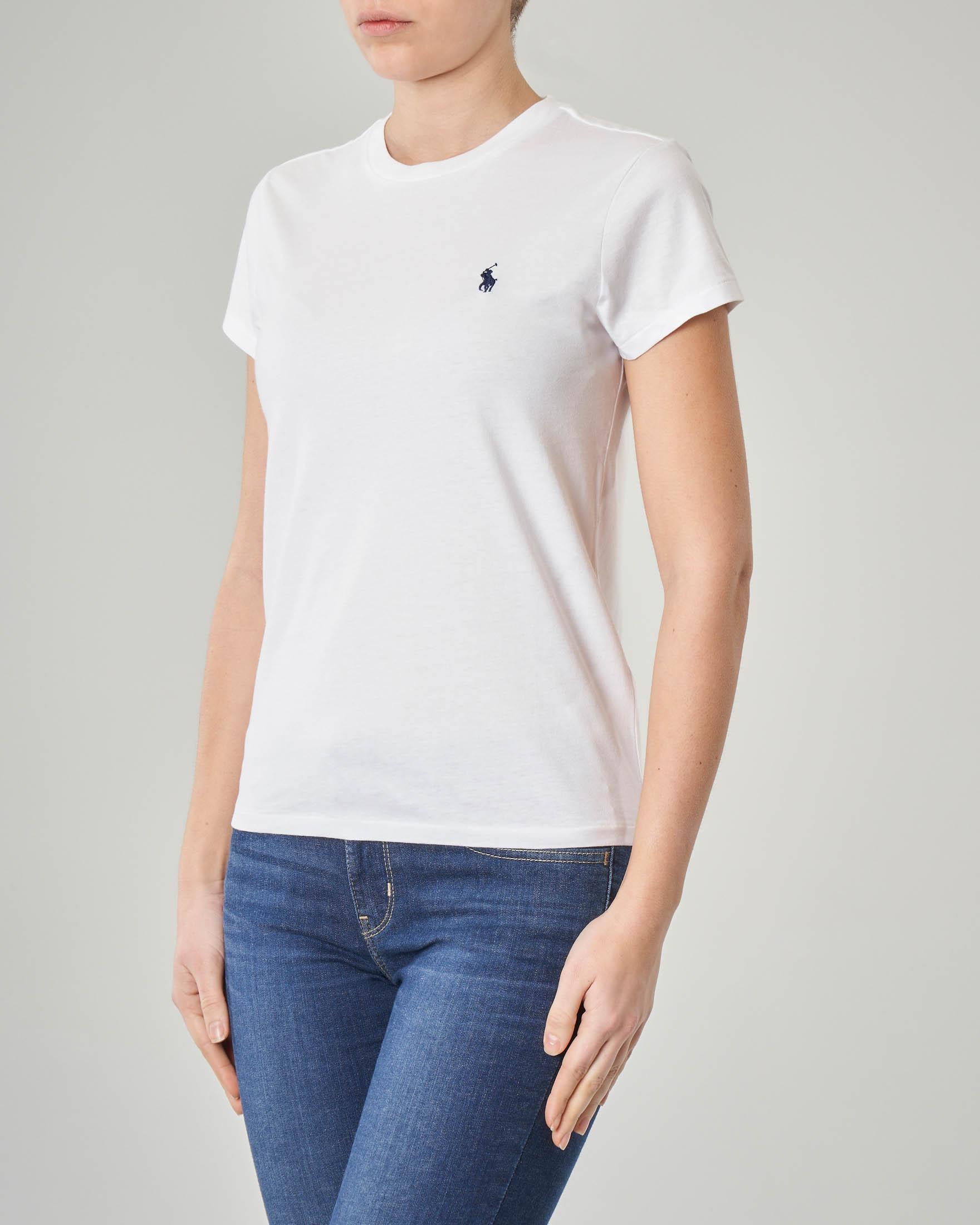 a72b6905eace T-shirt bianca manica corta · Polo Ralph Lauren