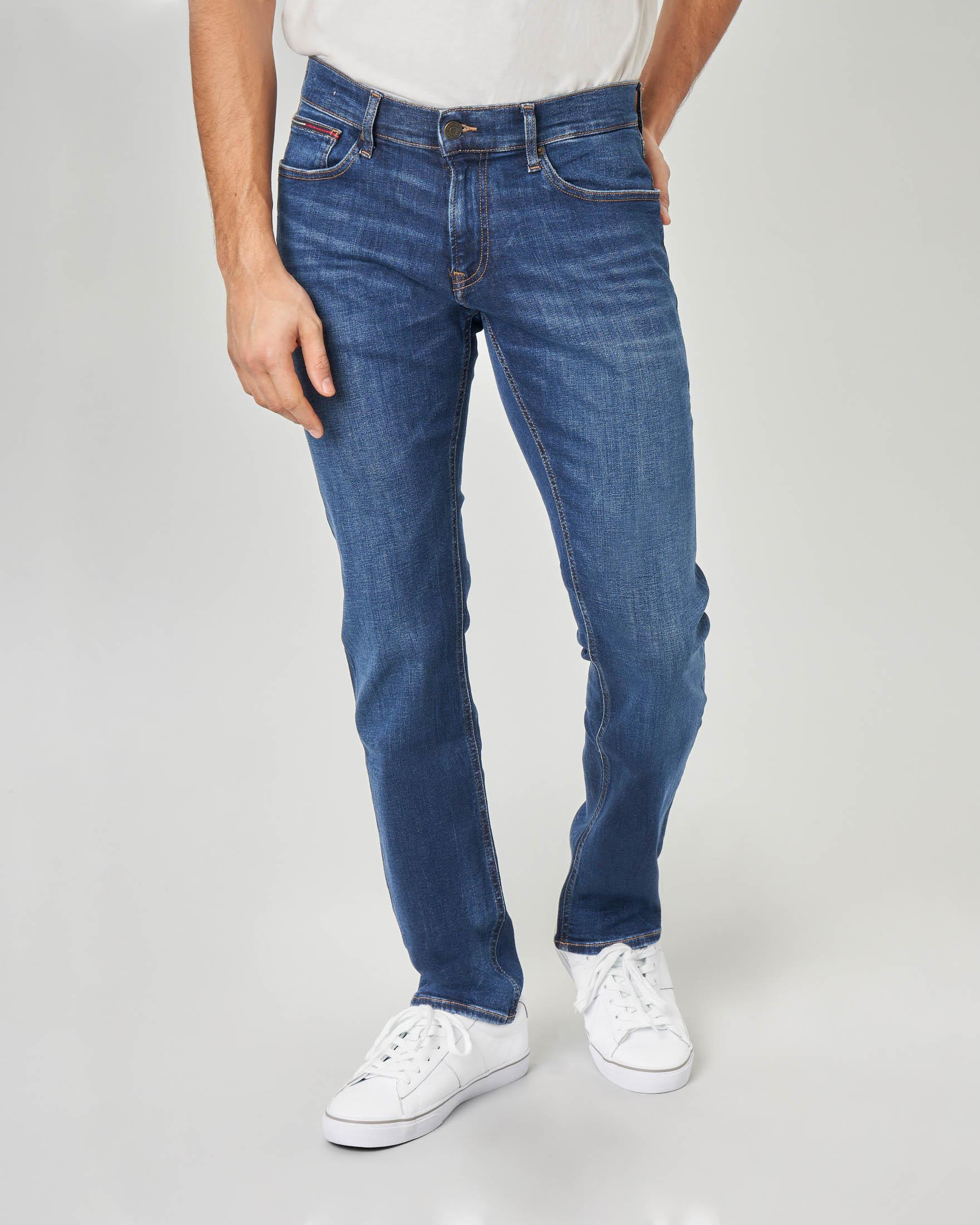 Jeans Scanton slim-fit stone wash