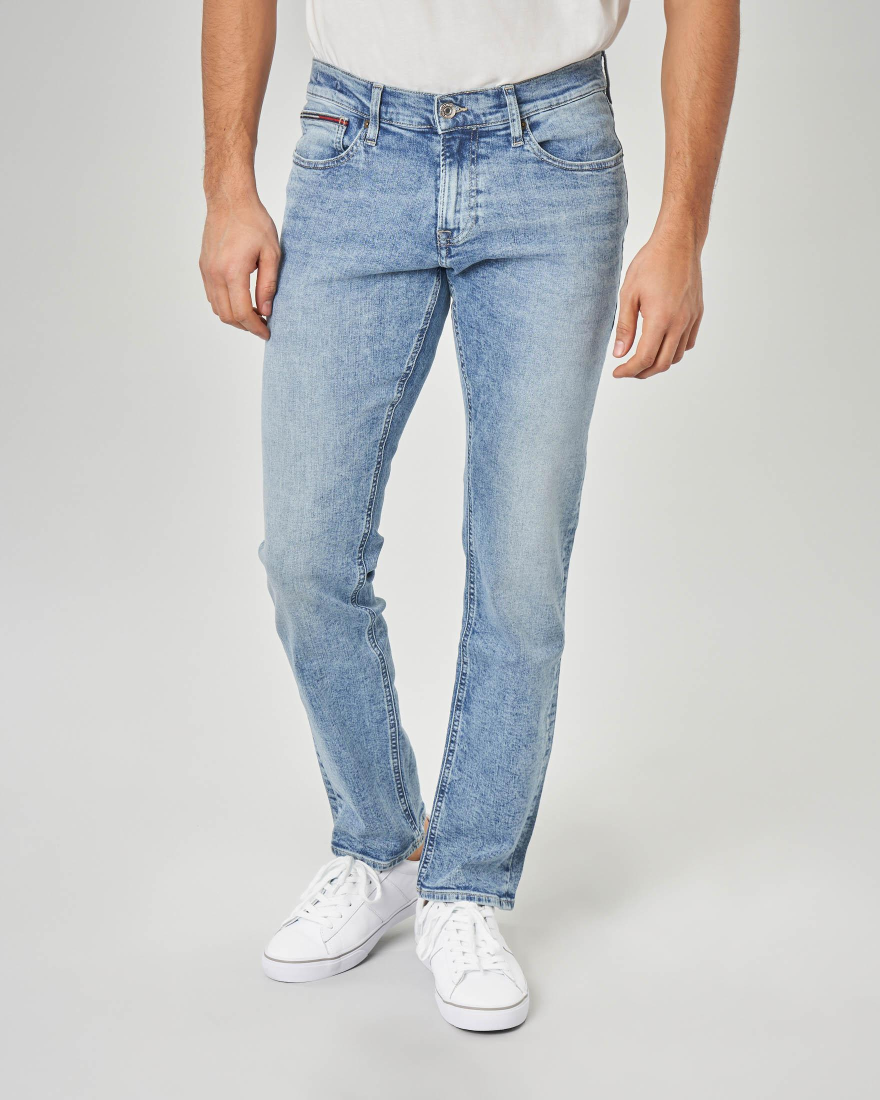 Jeans Scanton slim-fit lavaggio bleach