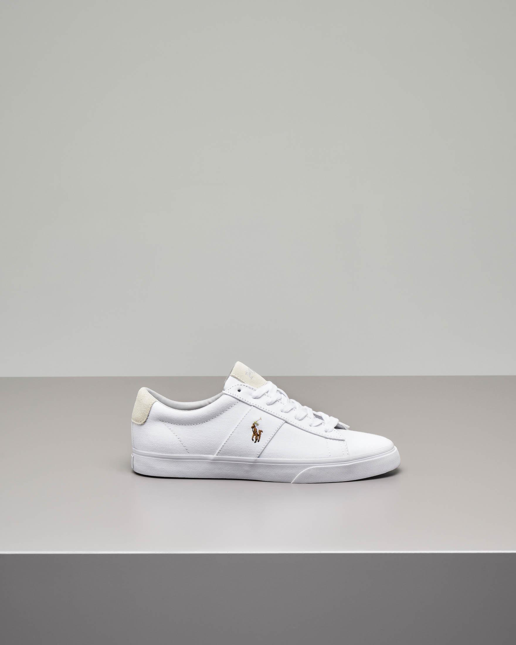 Sneakers Sayer bianche in tela