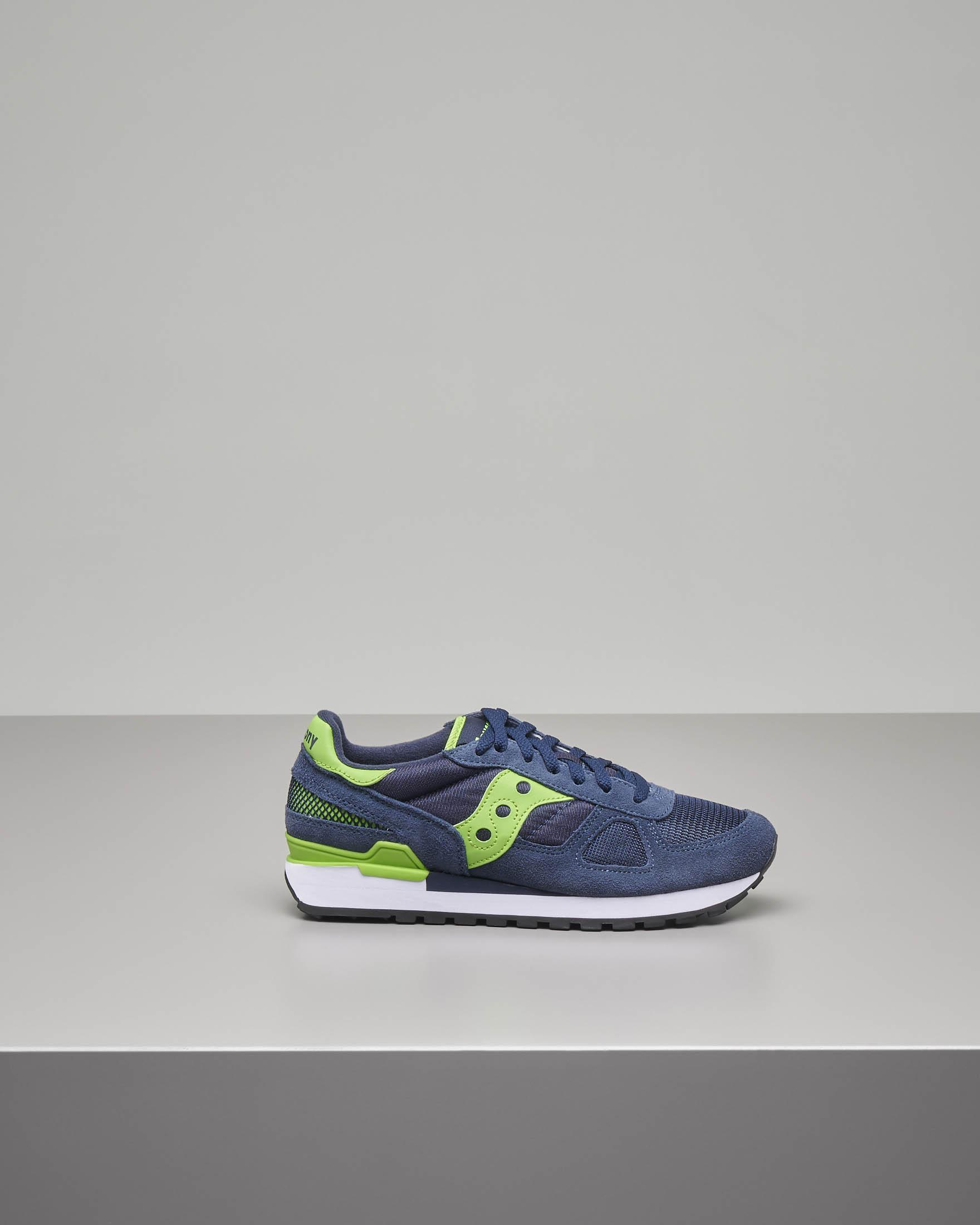Sneakers Shadow O' blu e verde