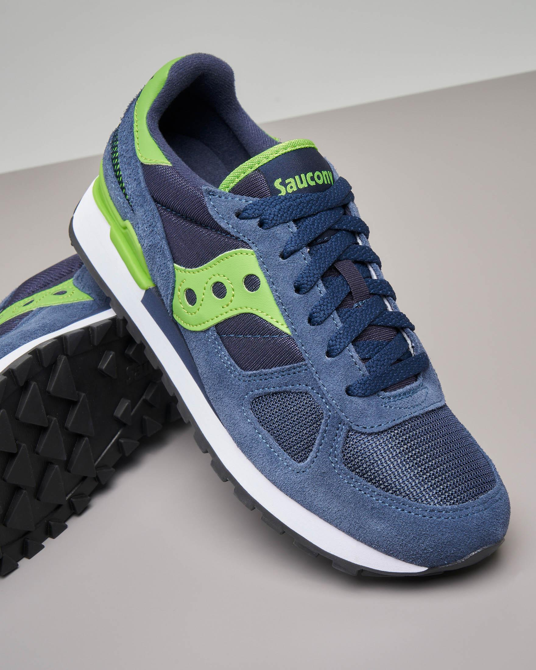 Sneakers Shadow O' blu e verde