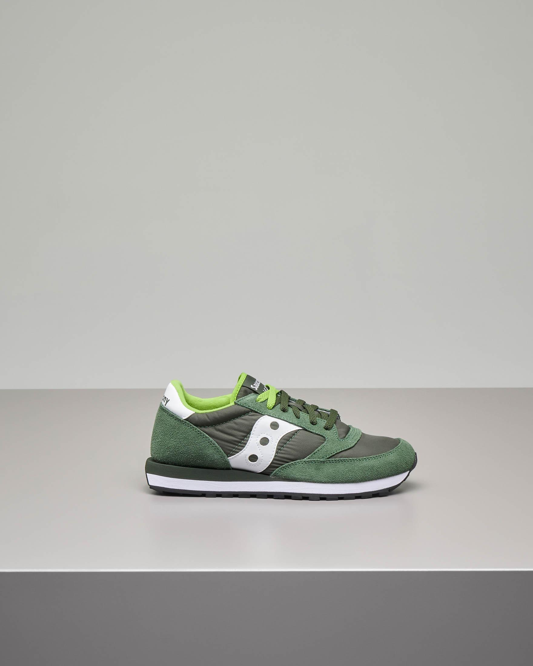 Sneakers Jazz O' verde scuro
