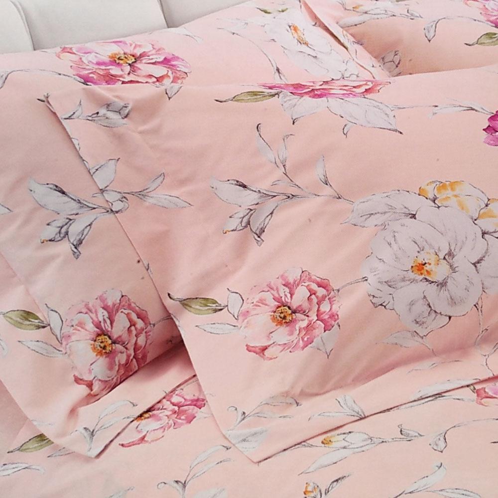 Lenzuola Matrimoniali Rosa.Gabel Secrets Double Bed Sheet Set In Floral Percale