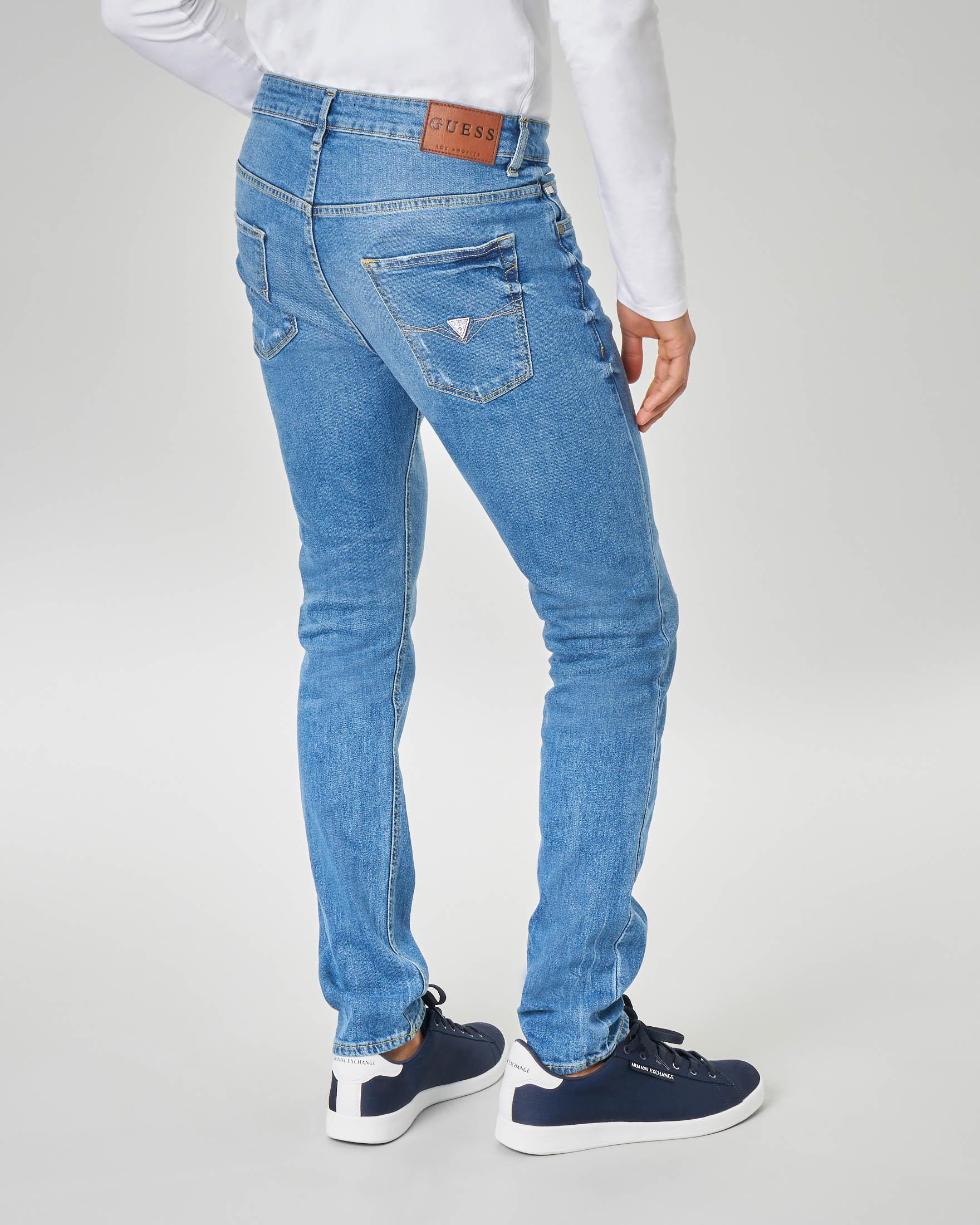 Jeans skinny lavaggio super stone wash