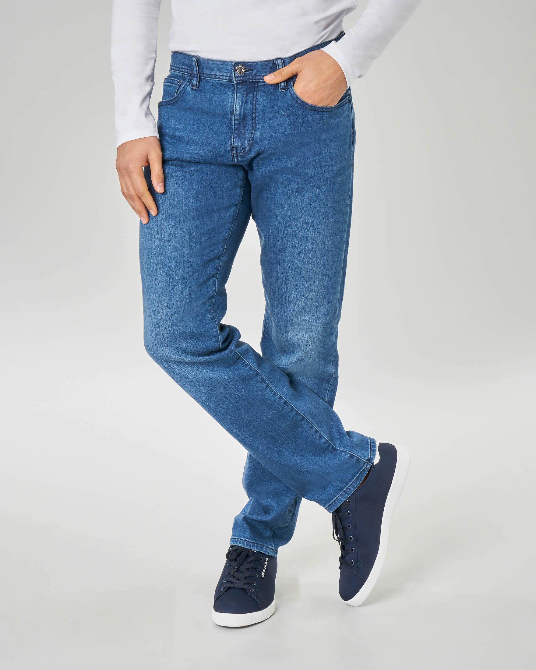 Jeans J16 lavaggio indigo