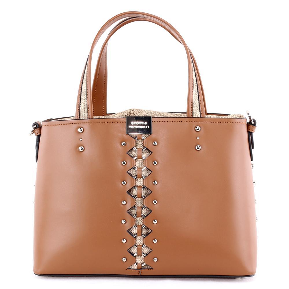 cheap for discount 9da09 db32d Hand and shouder bag Cromia KIMANI 1404206 CUOIO