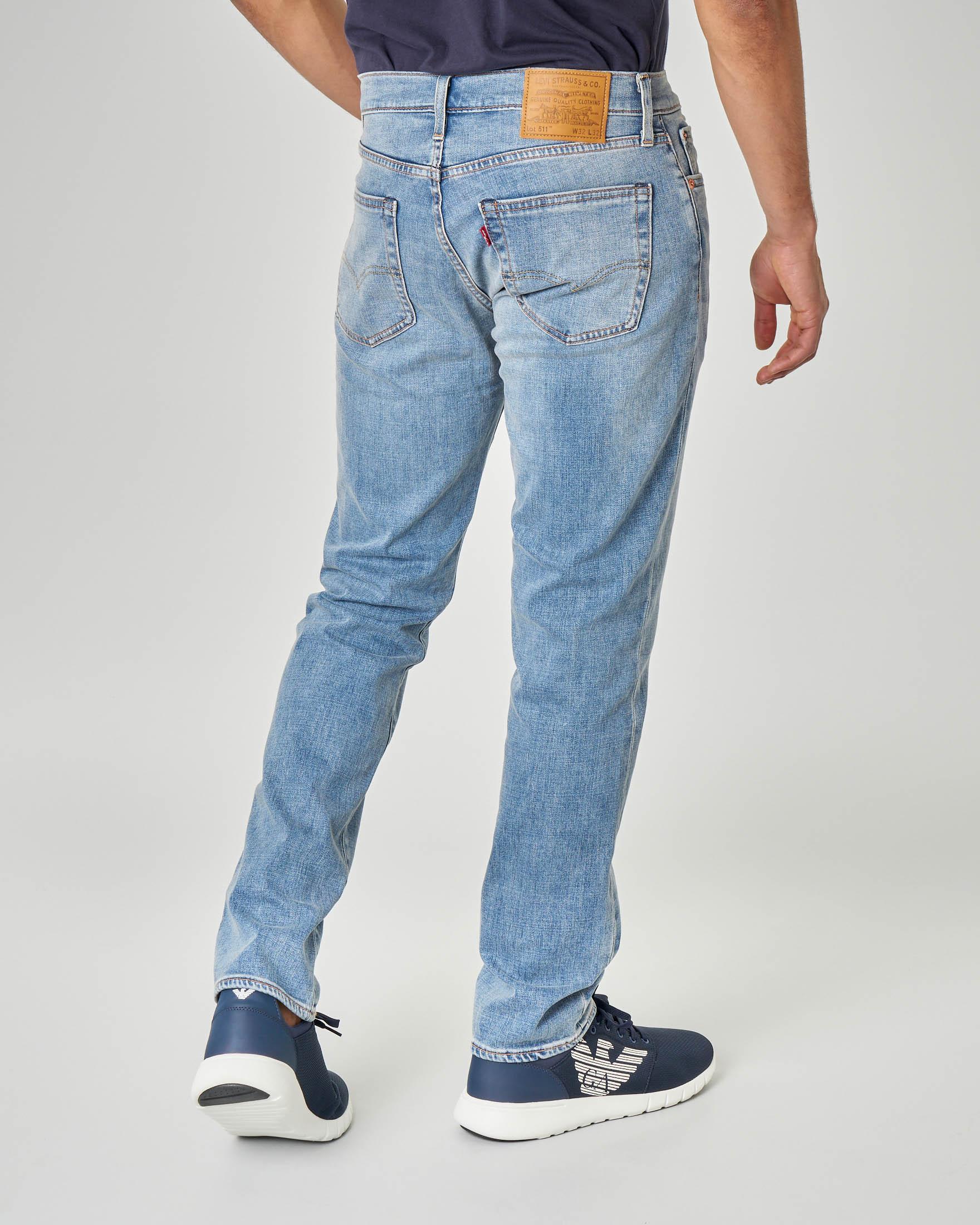 Jeans 511 lavaggio super stone wash
