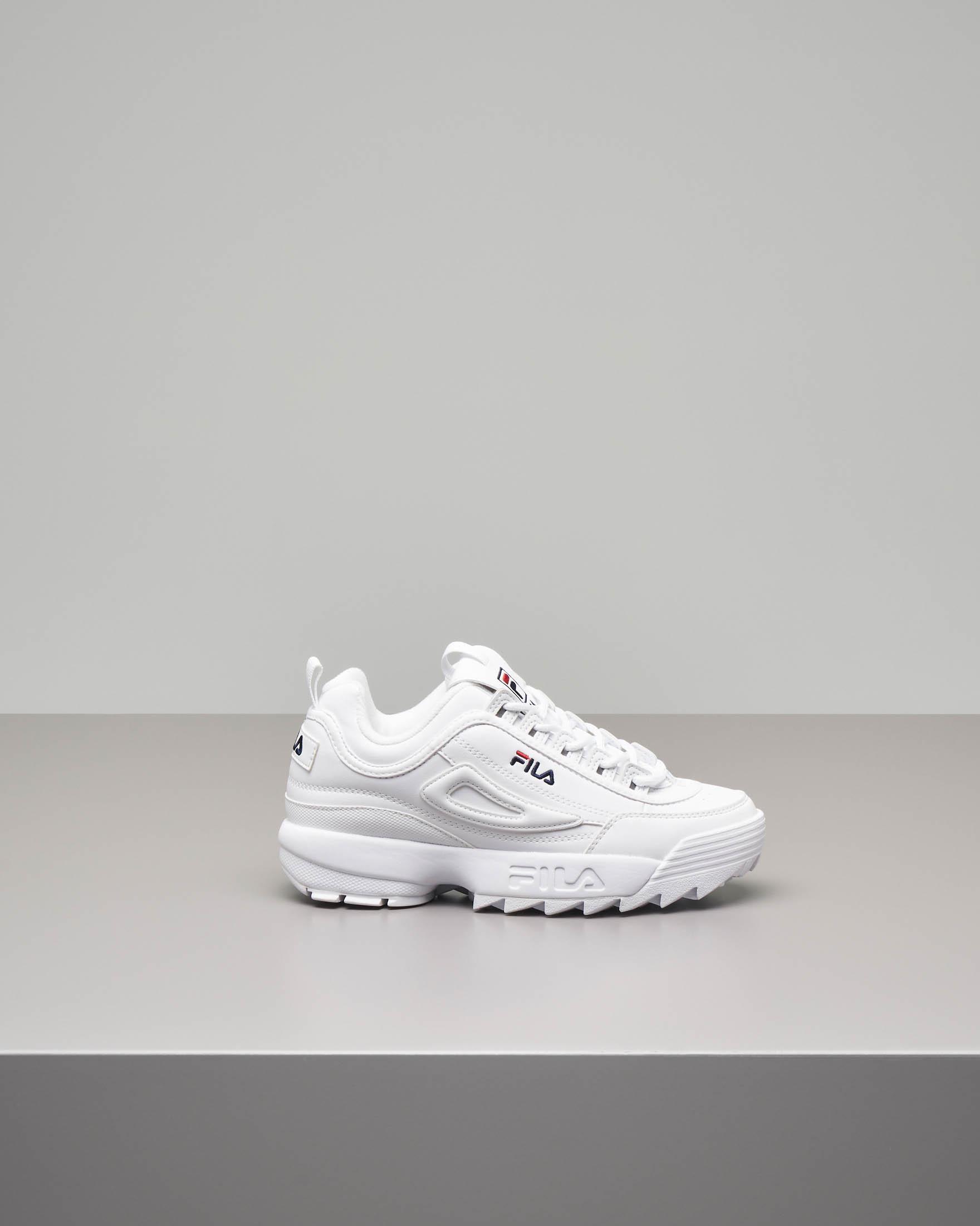 Sneaker Fila Disruptor 2 Premium bianca