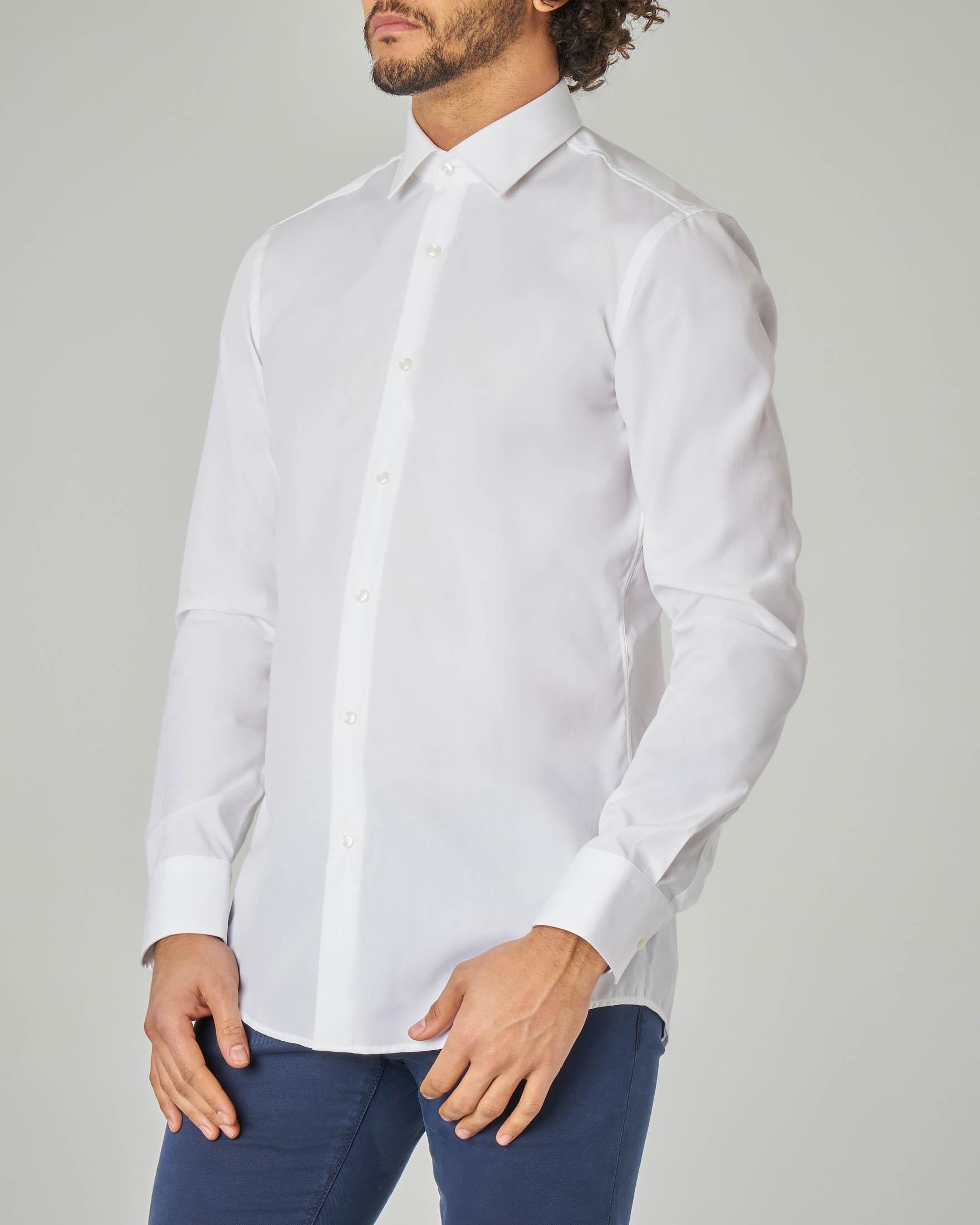 Camicia bianca Jenno slim fit