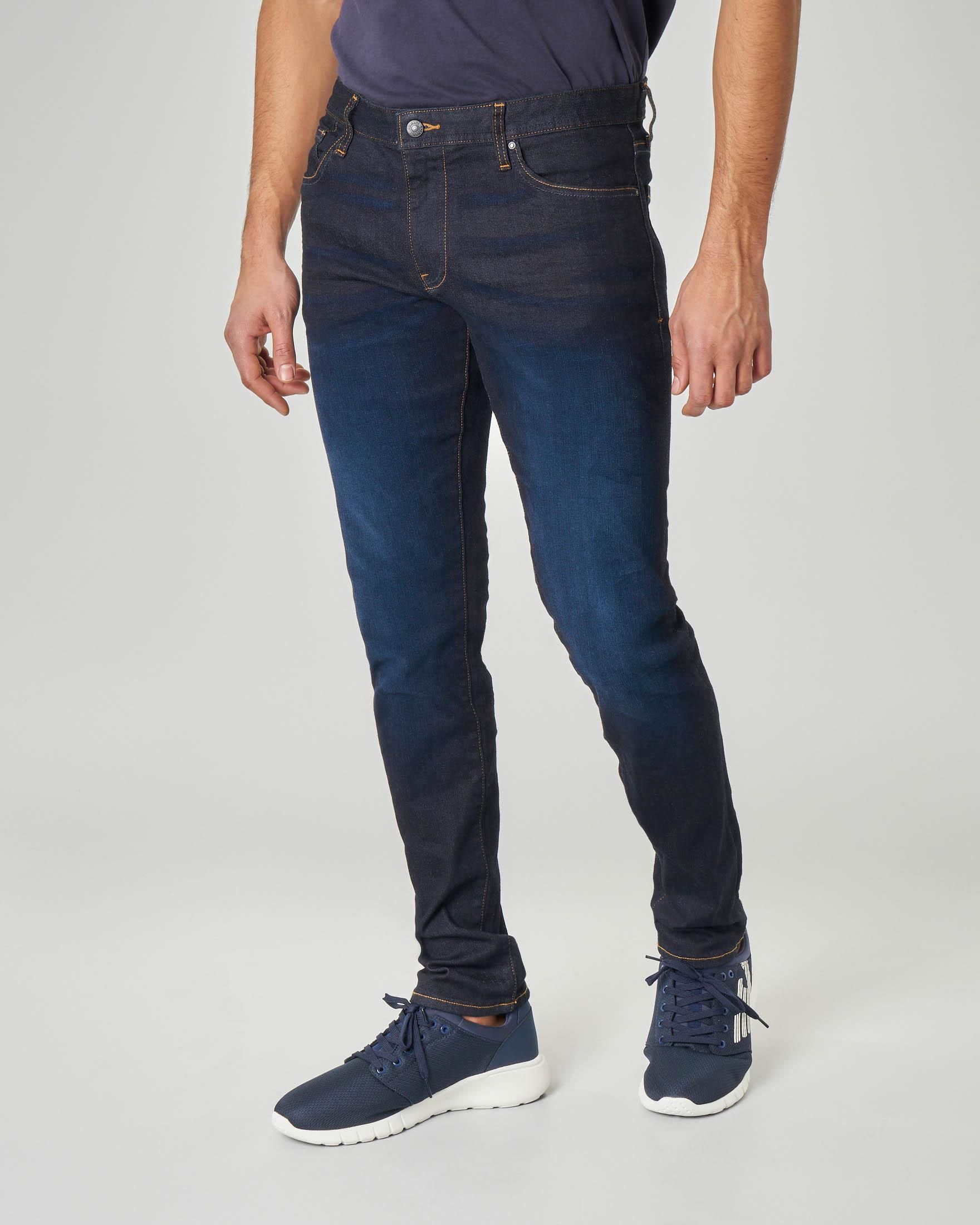 Jeans J14 lavaggio scuro skinny fit
