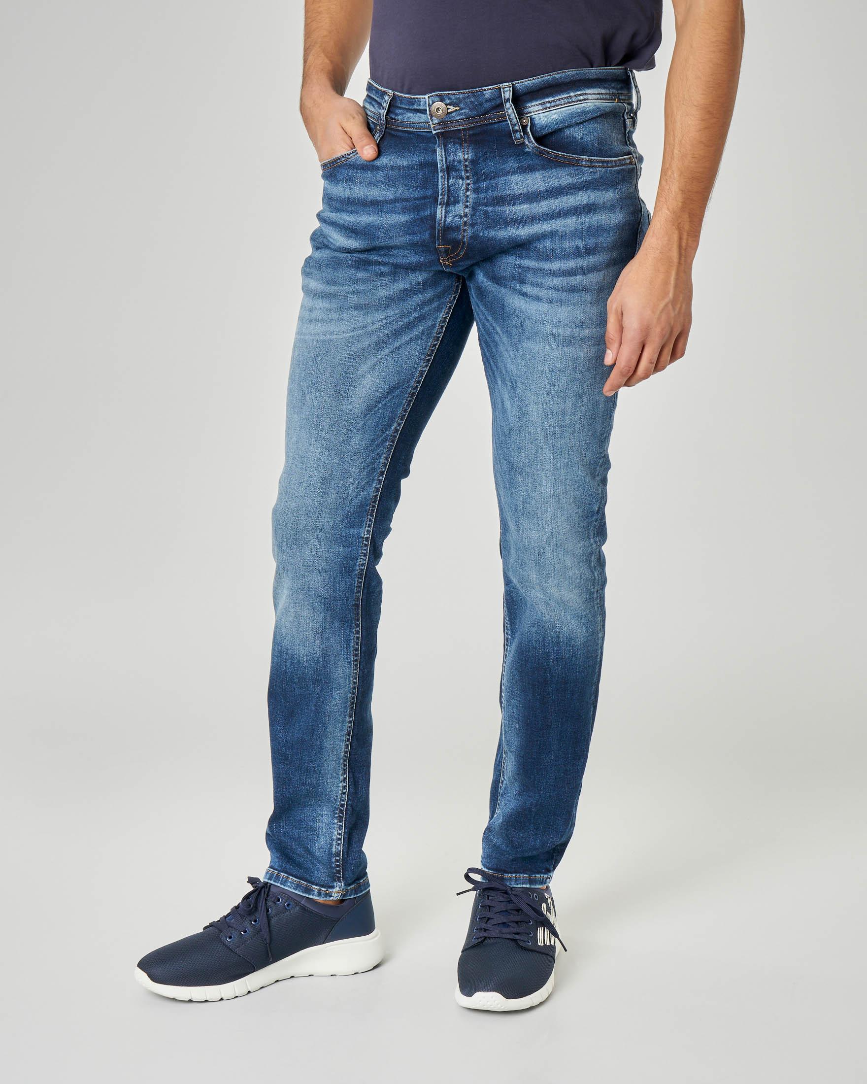 Jeans tim lavaggio stone wash