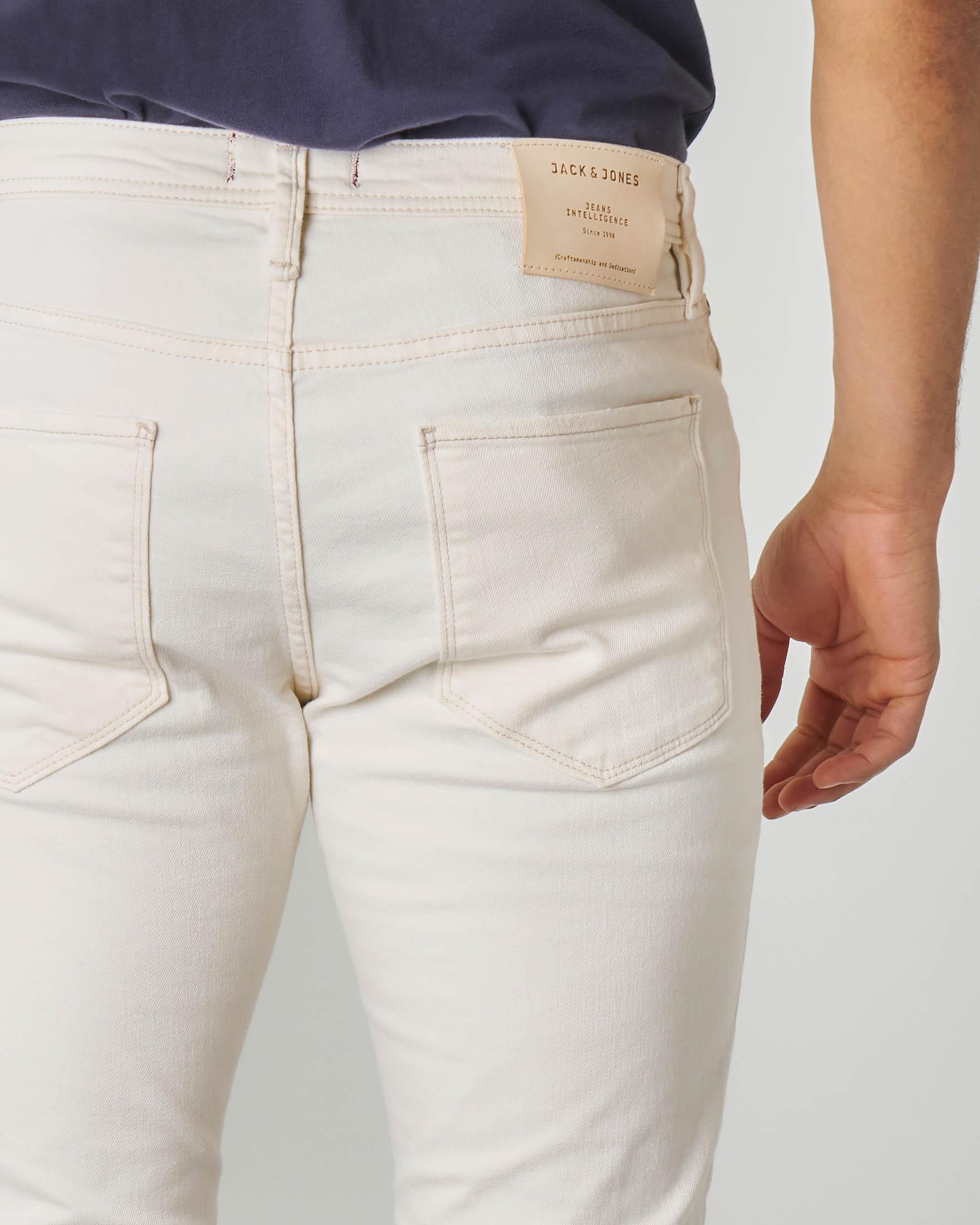 Jeans bianco glenn
