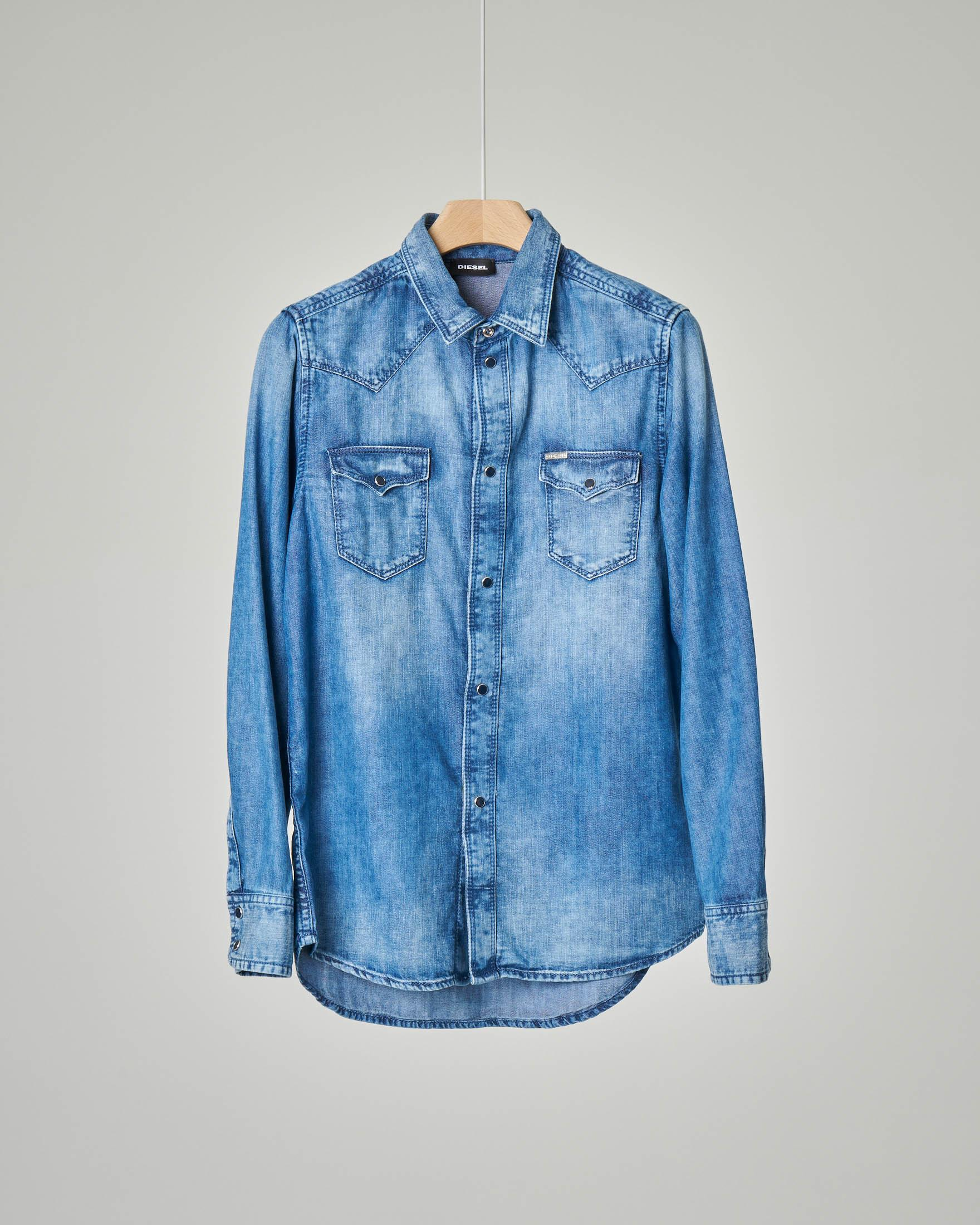 Camicia in denim western
