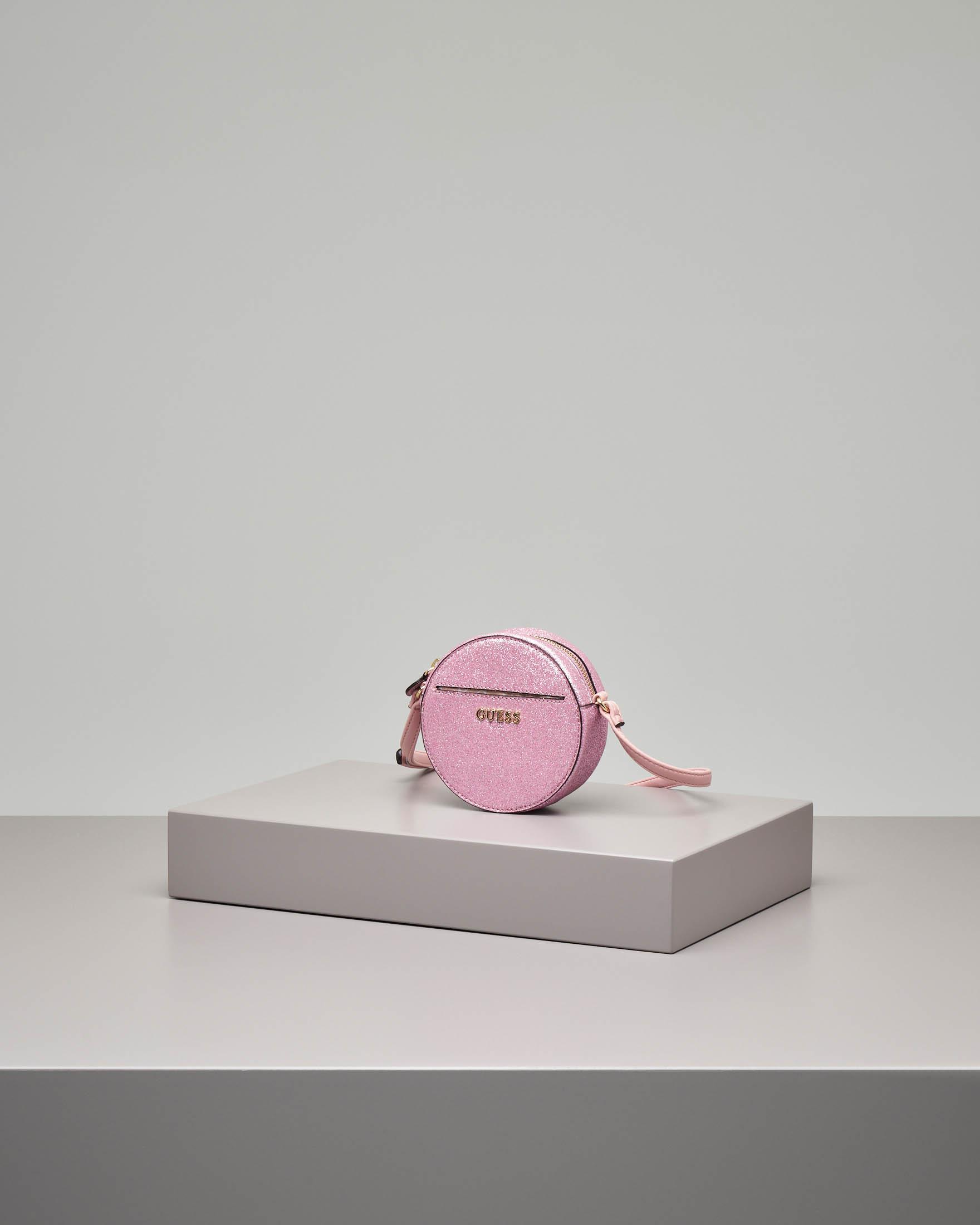 Borsa rosa glitter