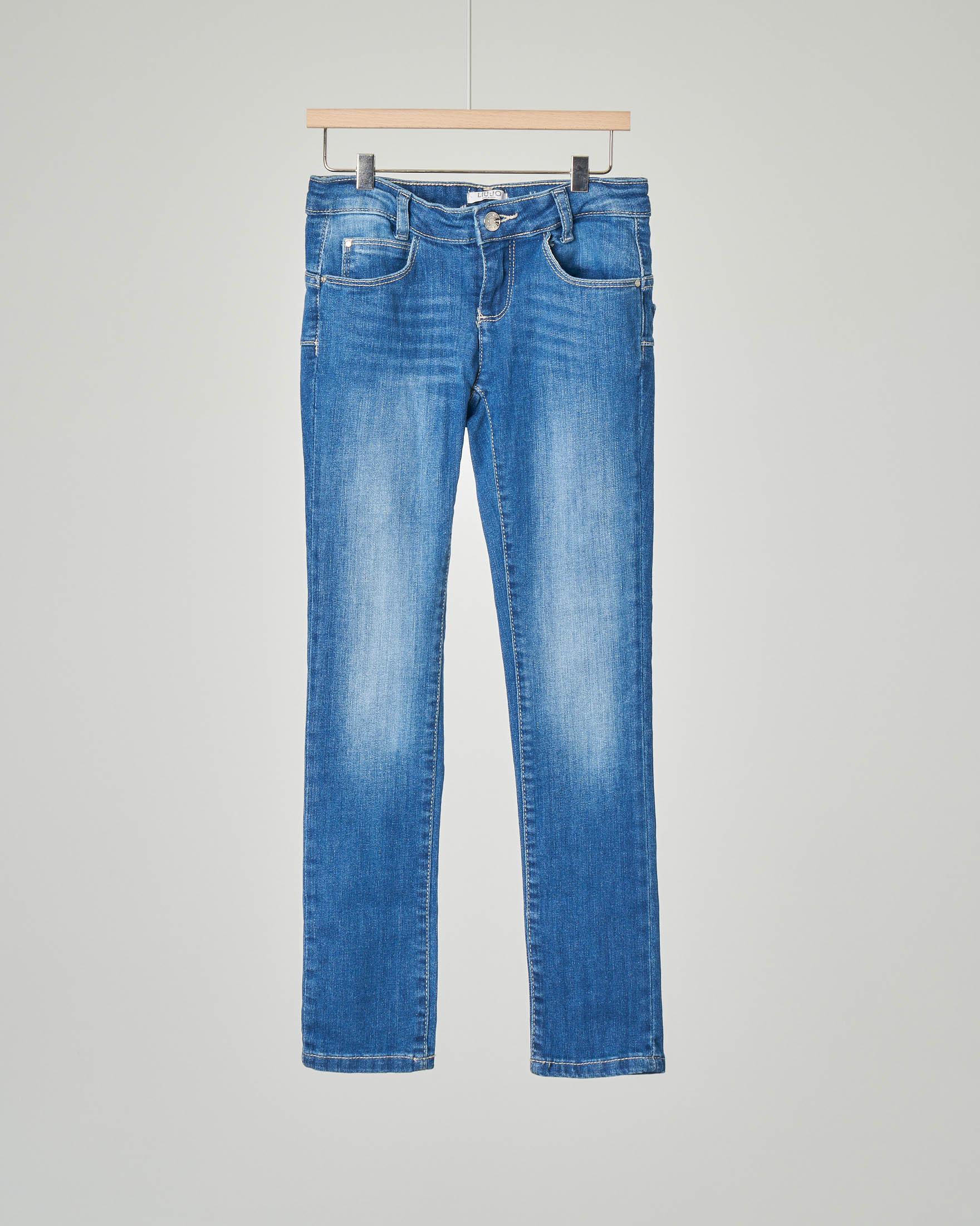 Pantalone jeans stone wash