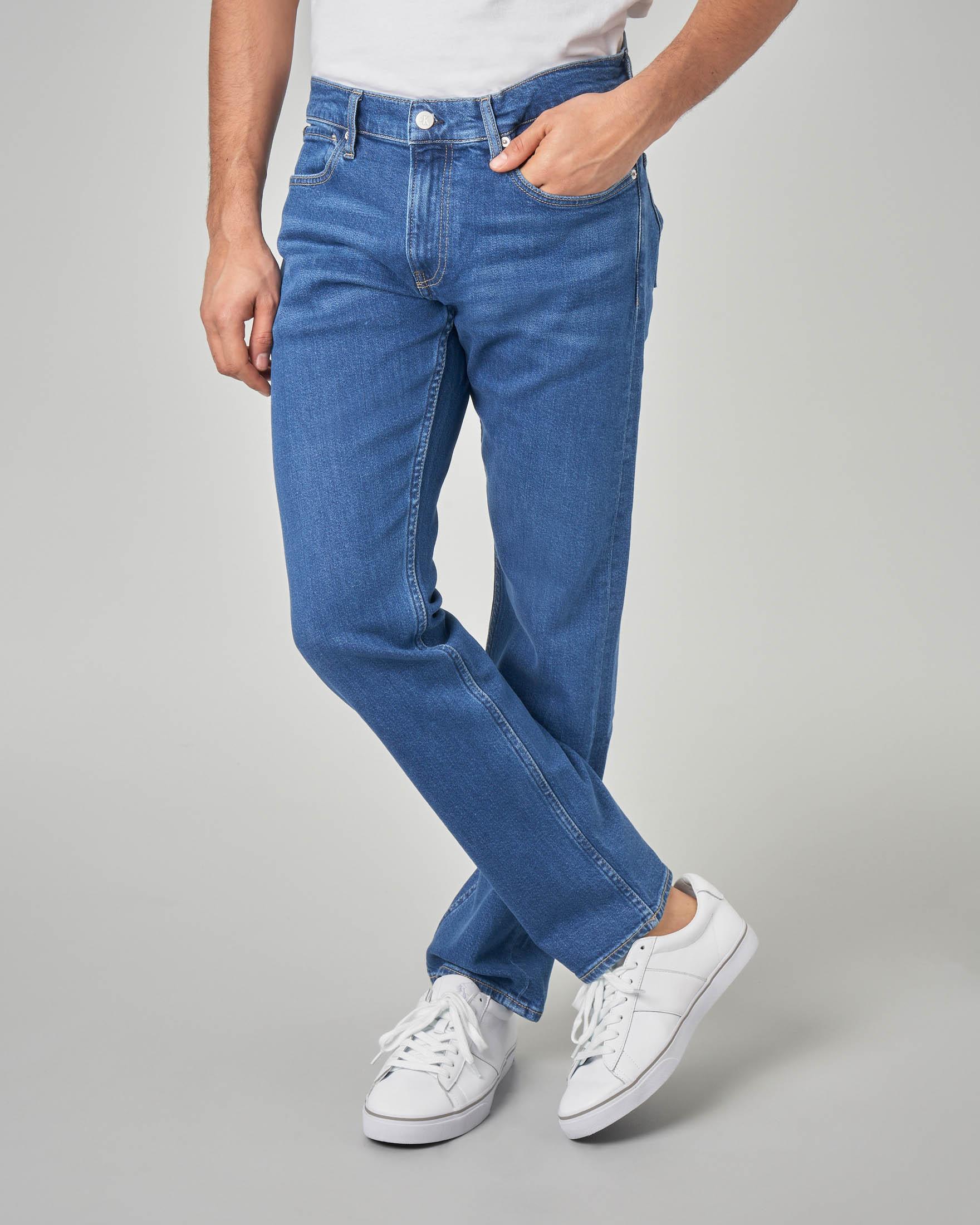Jeans slim stone wash