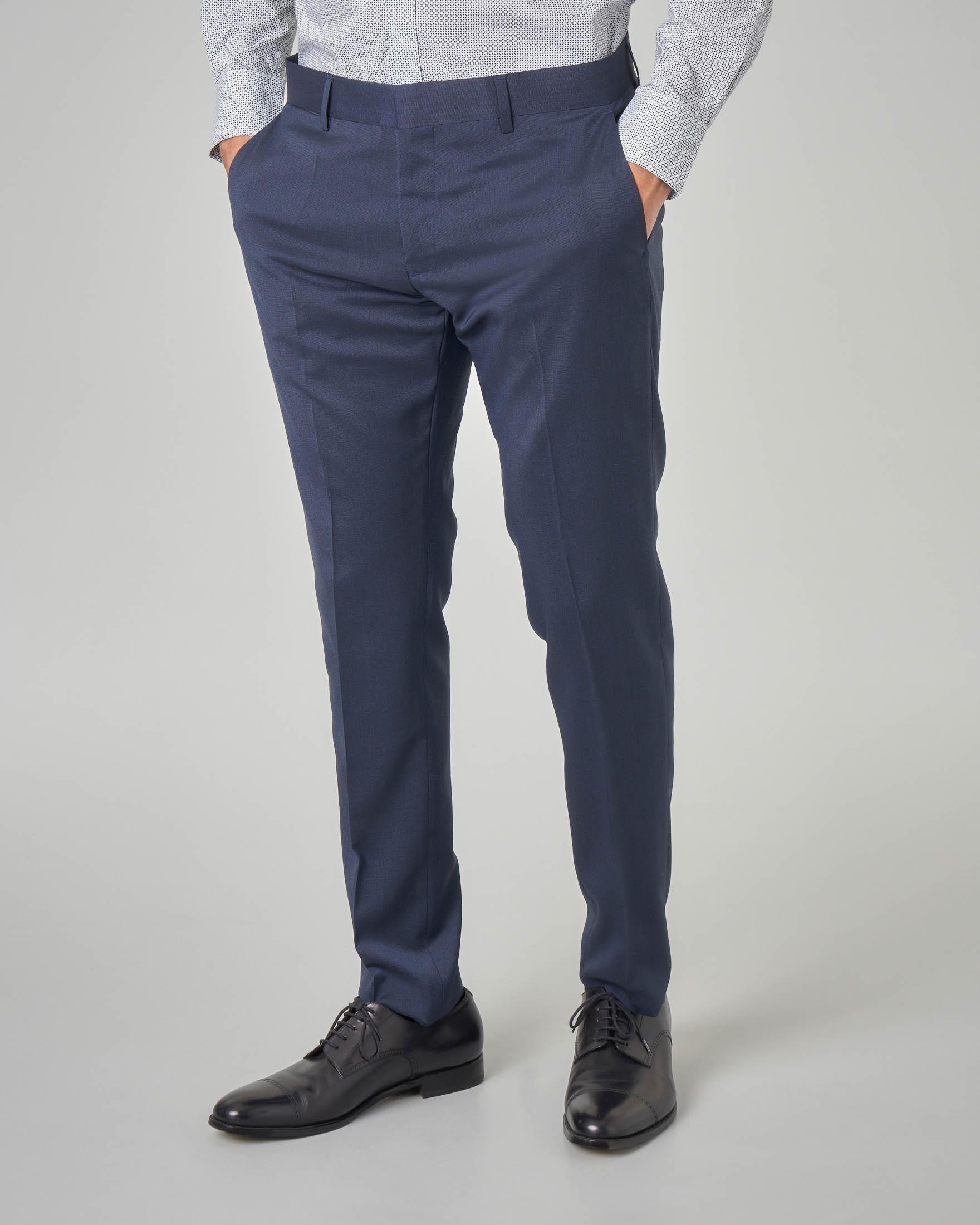 Pantalone blu puntaspillo