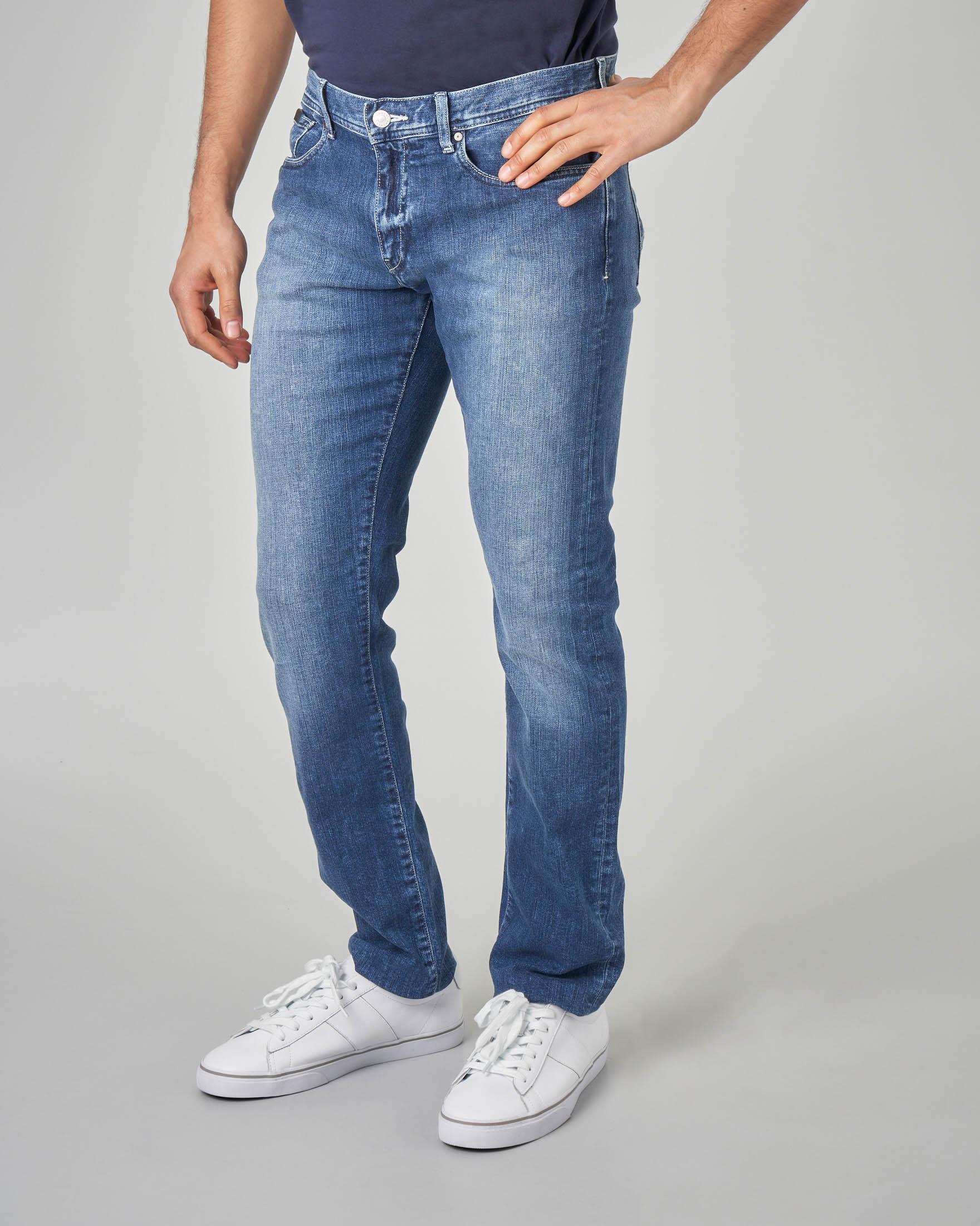 Jeans j13 lavaggio stone wash