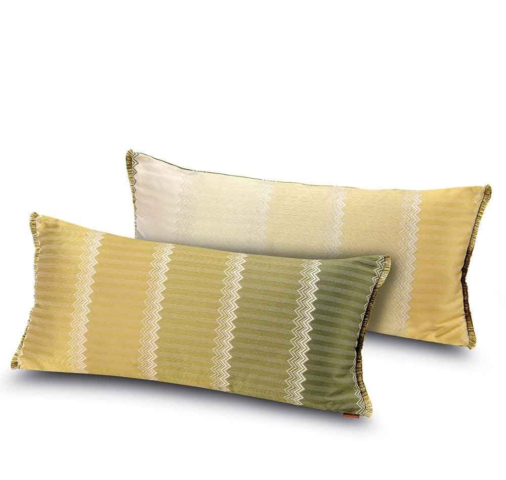 Cuscini 30x60.Cuscino Decorativo Da Salotto 30x60 Cm Missoni Home Wells 162 Oro