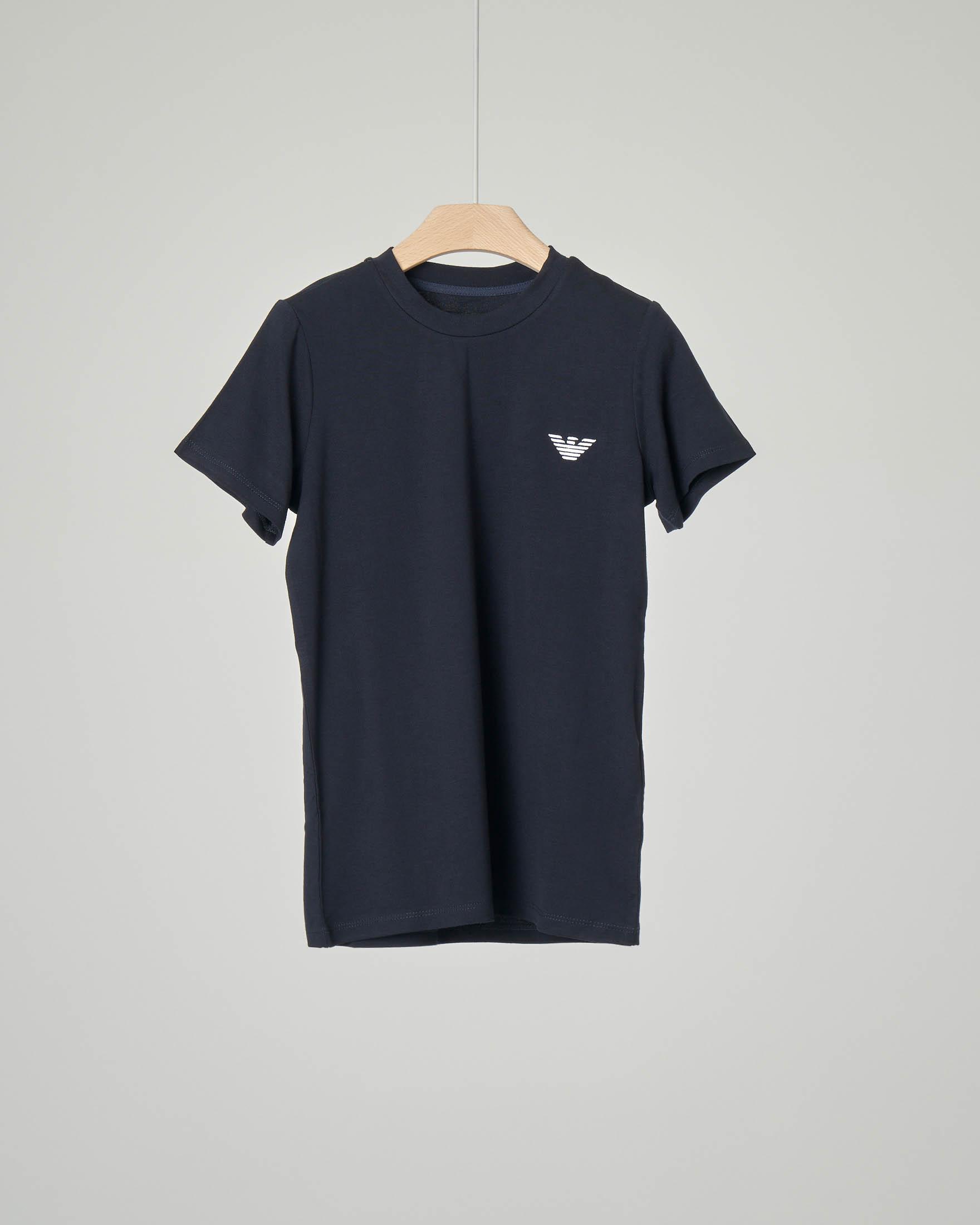 T-shirt mezza manica in viscosa stretch